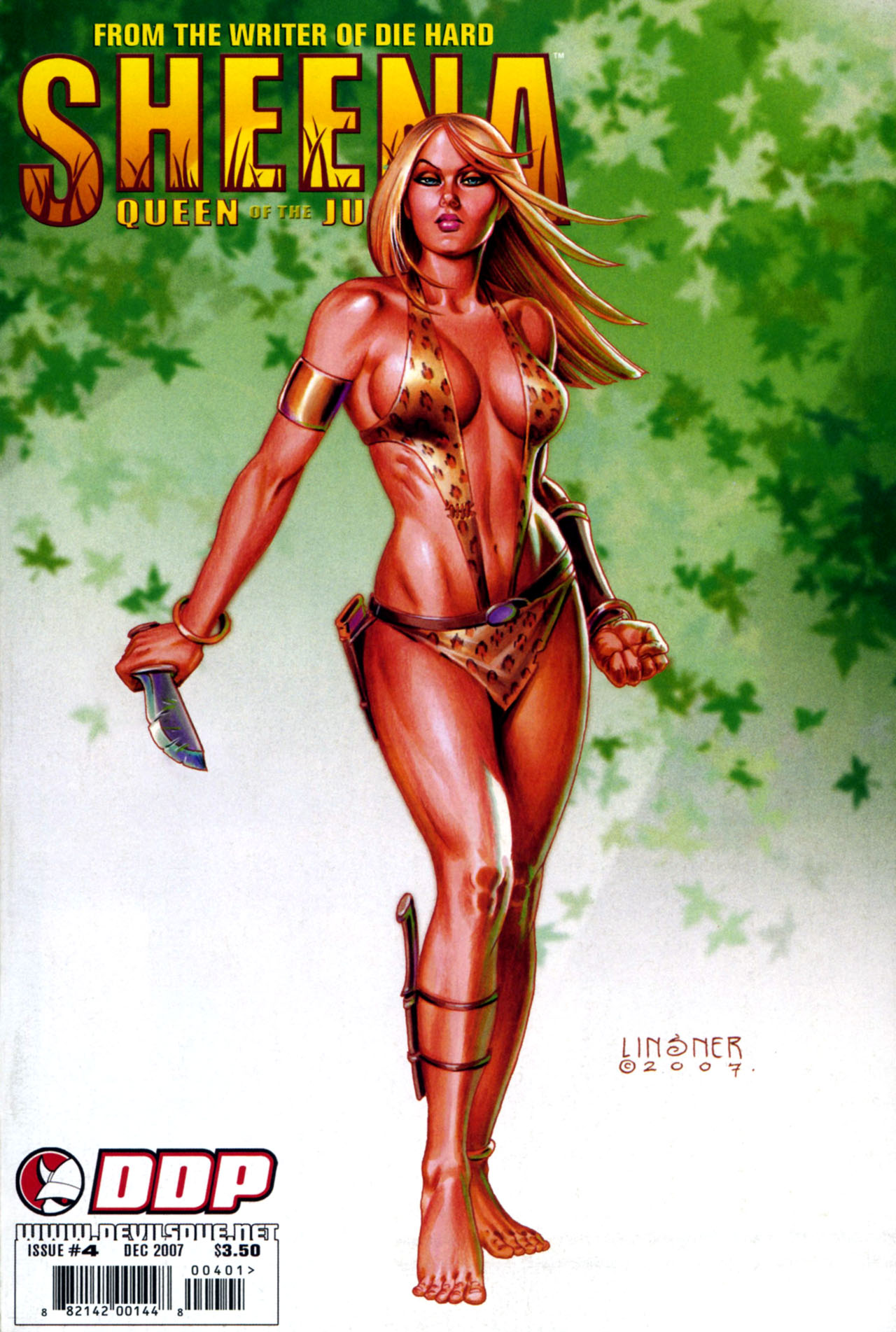 Read online Sheena, Queen of the Jungle comic -  Issue #4 - 1