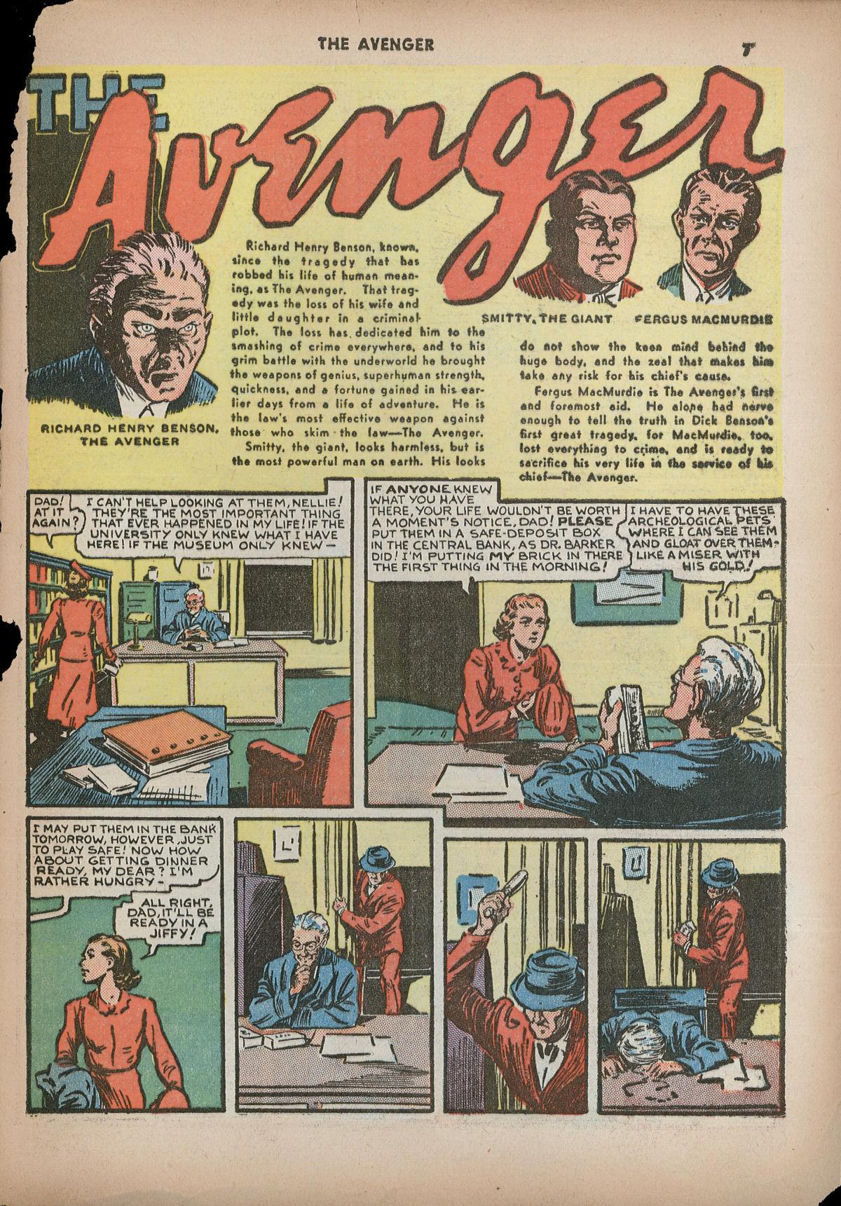 Read online Shadow Comics comic -  Issue #2 - 10