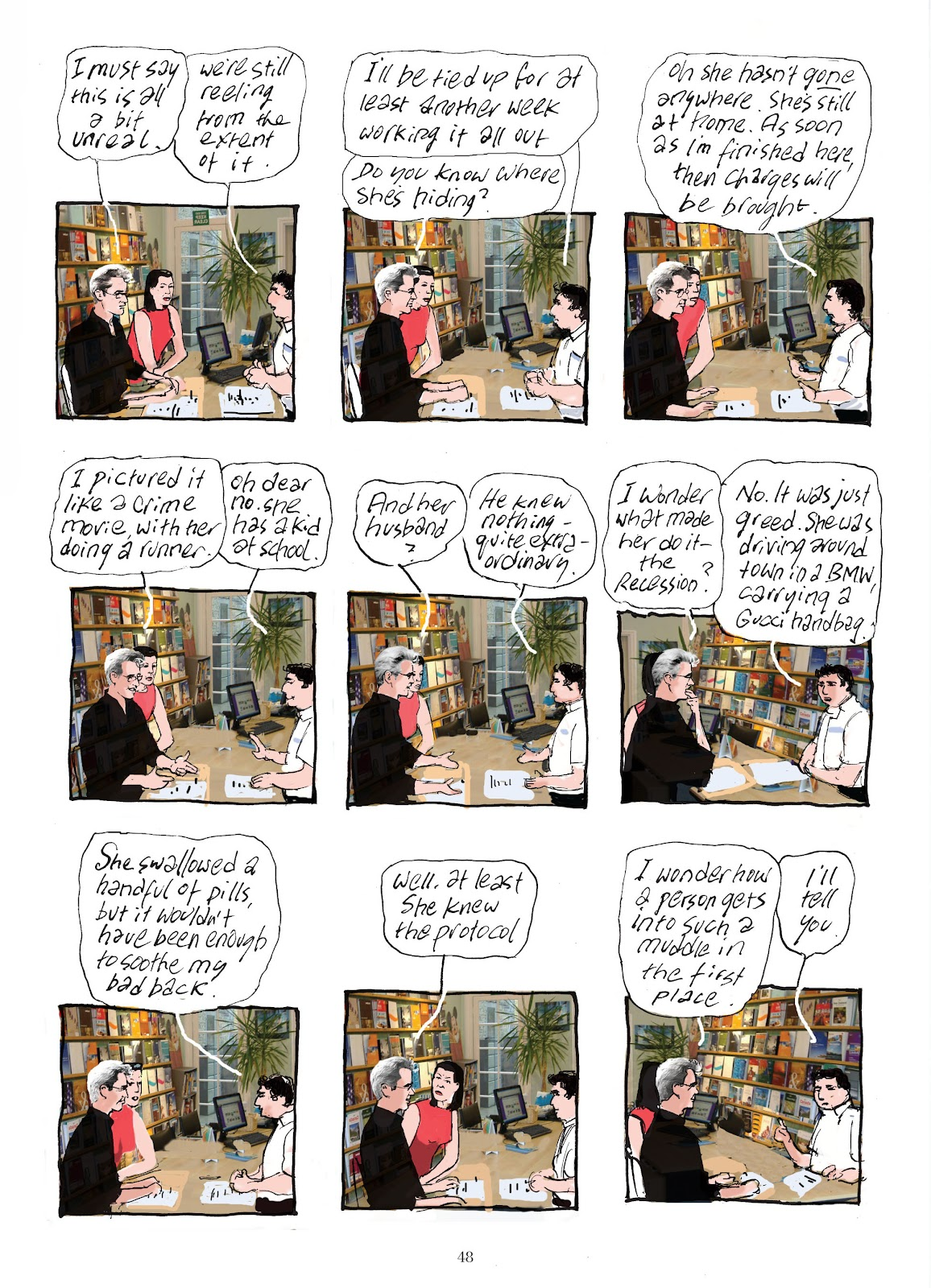 Read online The Lovely Horrible Stuff comic -  Issue # TPB - 50