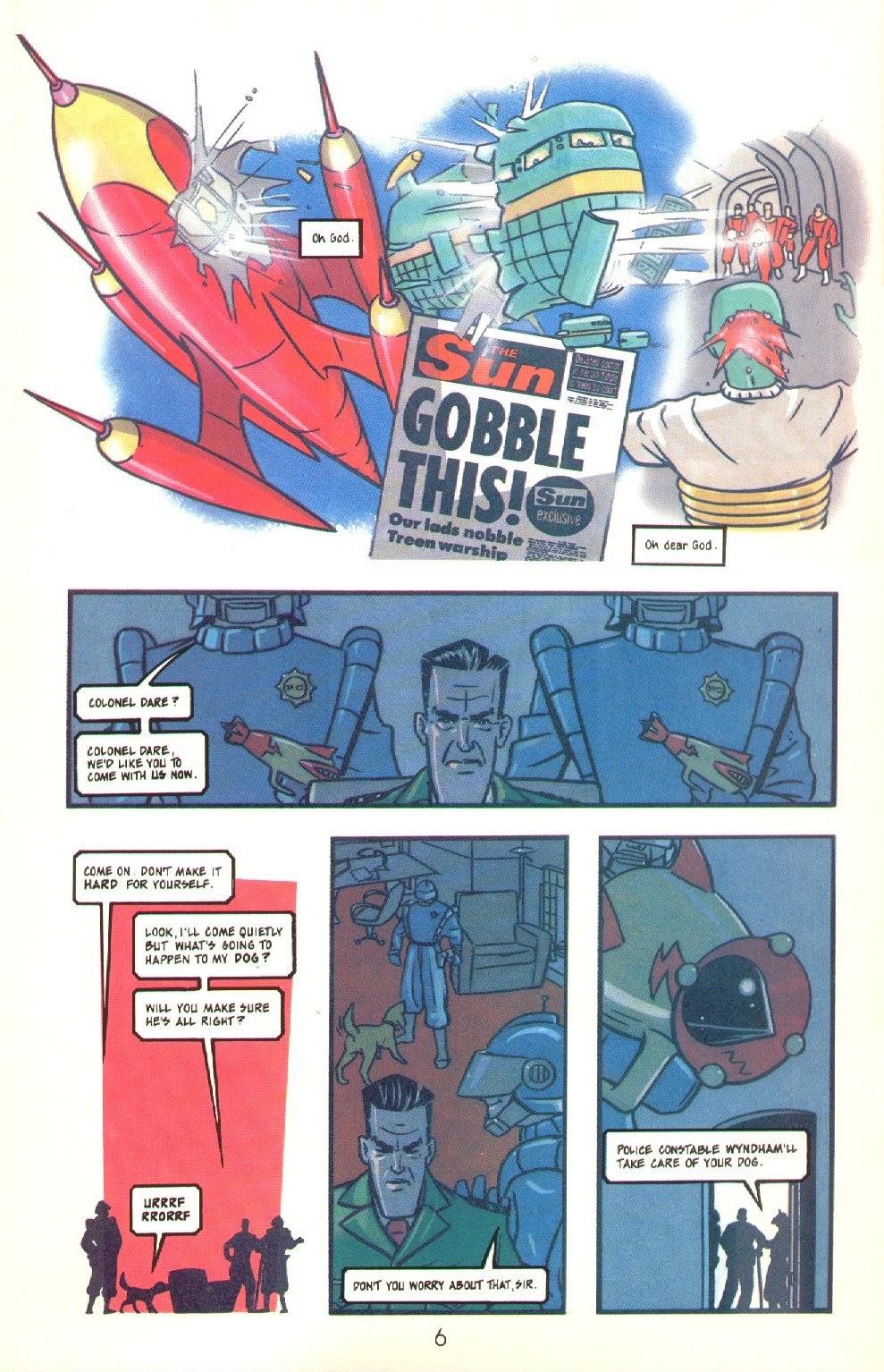 Read online Dare comic -  Issue #4 - 8