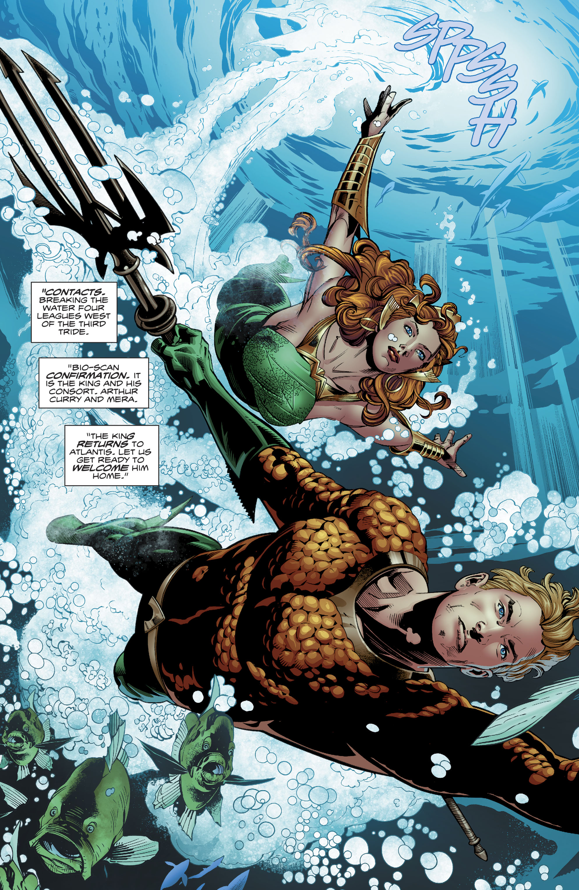 Read online Aquaman (2016) comic -  Issue #23 - 5