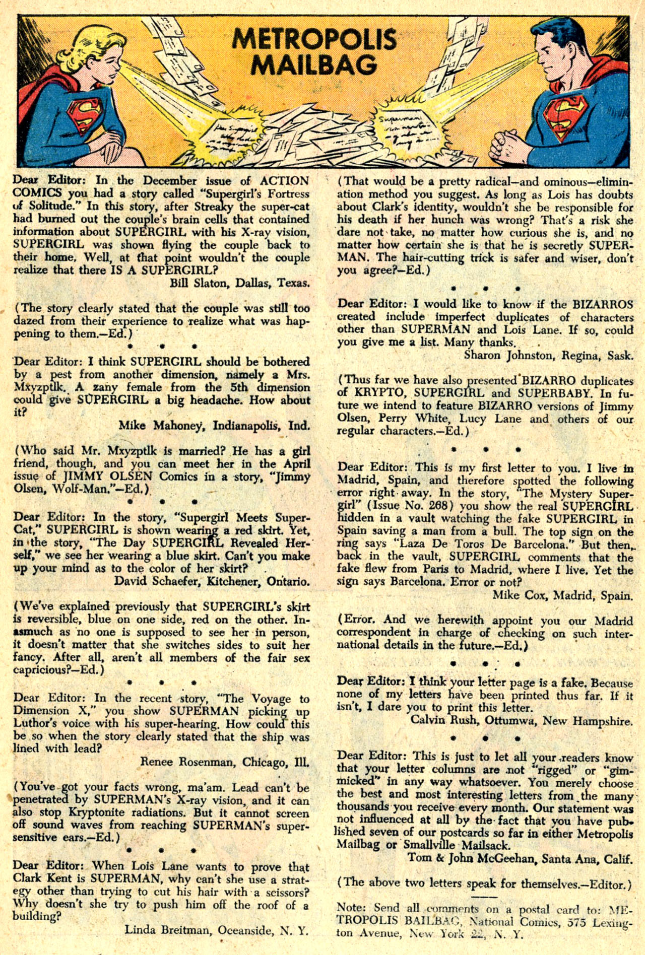 Read online Action Comics (1938) comic -  Issue #274 - 16