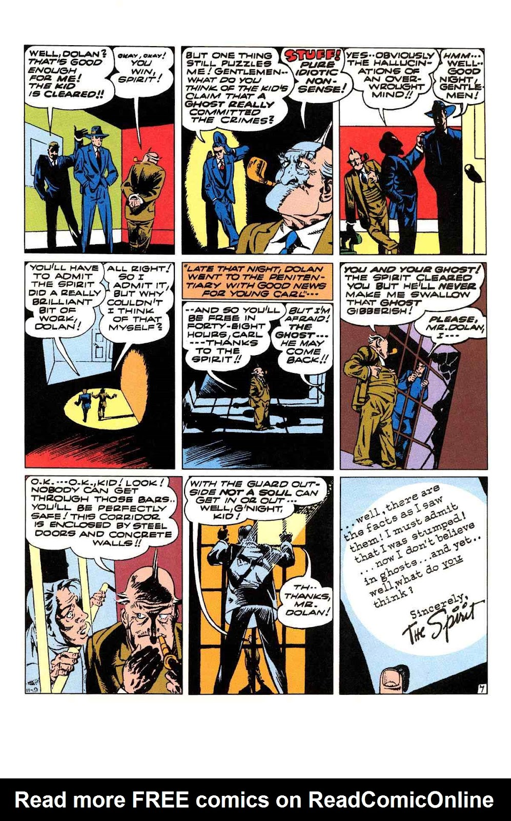 Read online Will Eisner's The Spirit Archives comic -  Issue # TPB 3 (Part 2) - 52