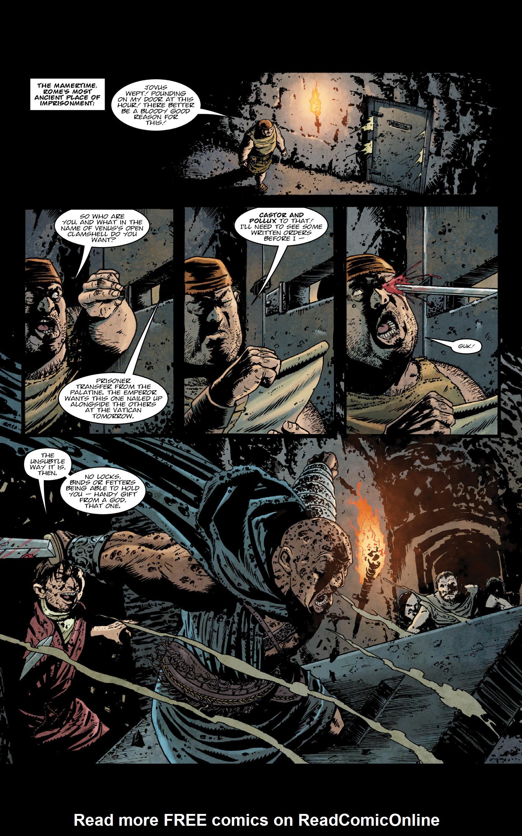 Read online Aquila comic -  Issue #5 - 15