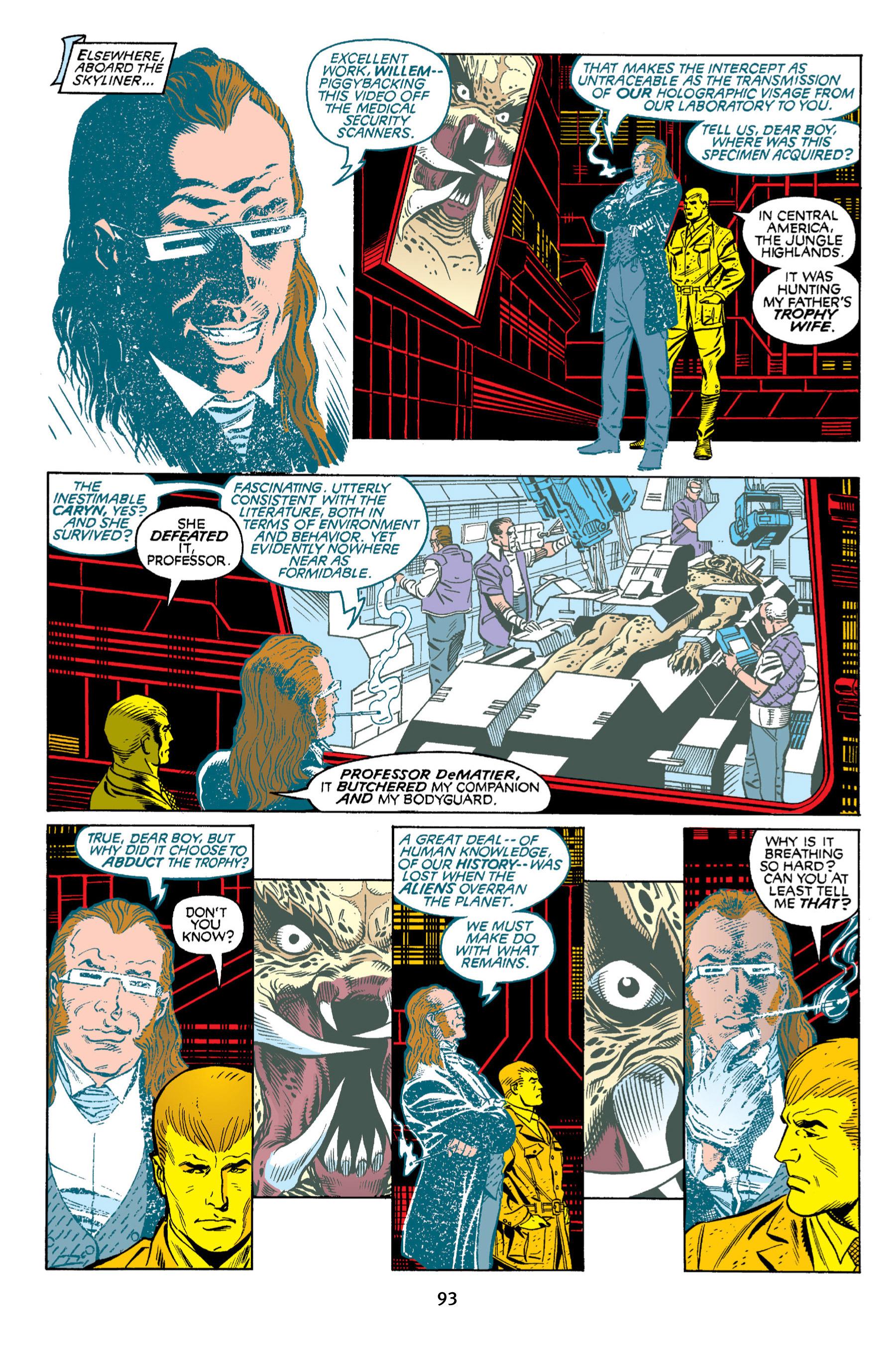 Read online Aliens vs. Predator Omnibus comic -  Issue # _TPB 2 Part 1 - 92