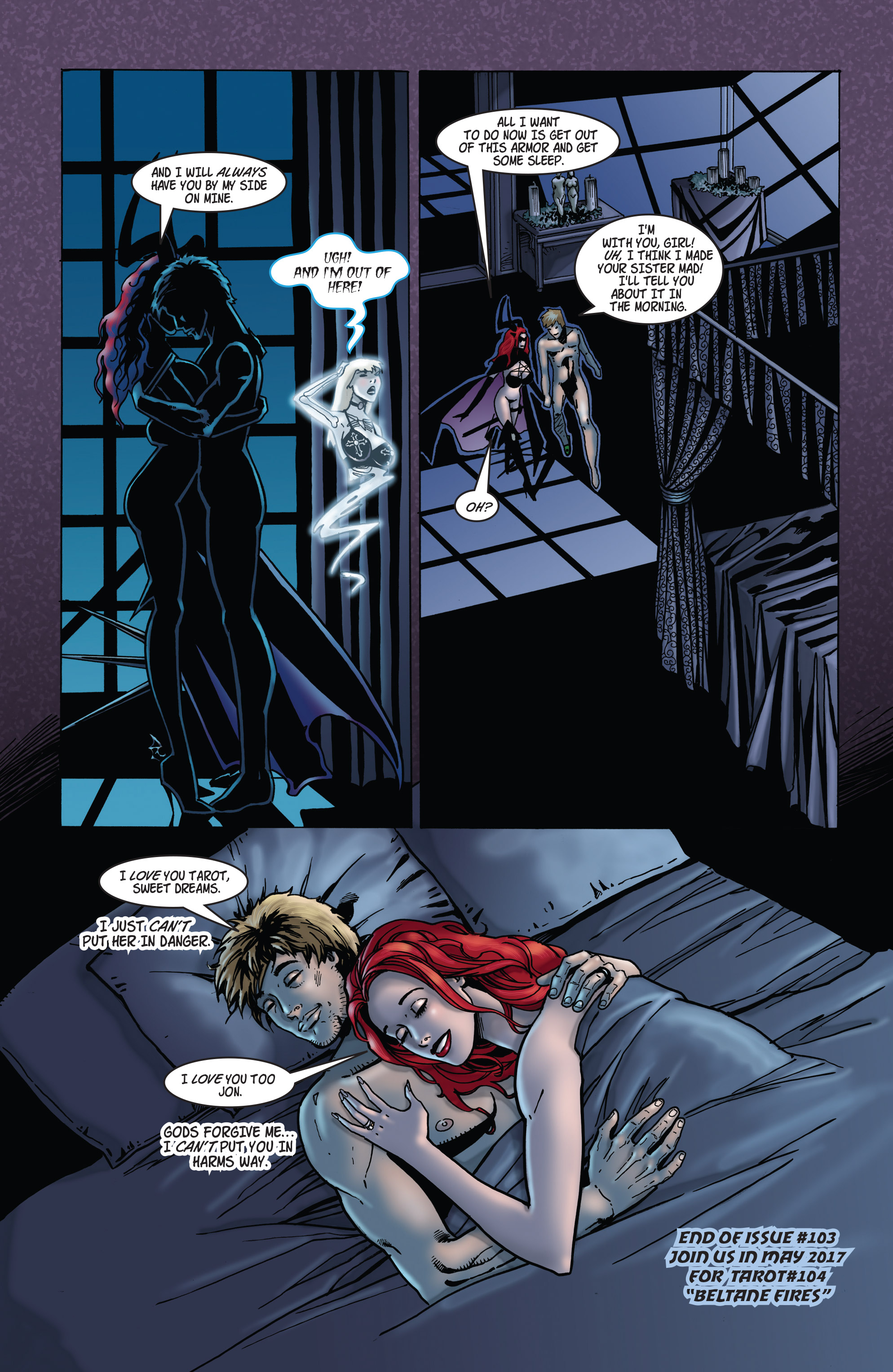 Read online Tarot: Witch of the Black Rose comic -  Issue #103 - 25