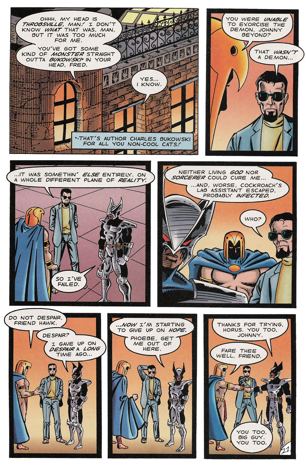 Read online ShadowHawk comic -  Issue #14 - 25