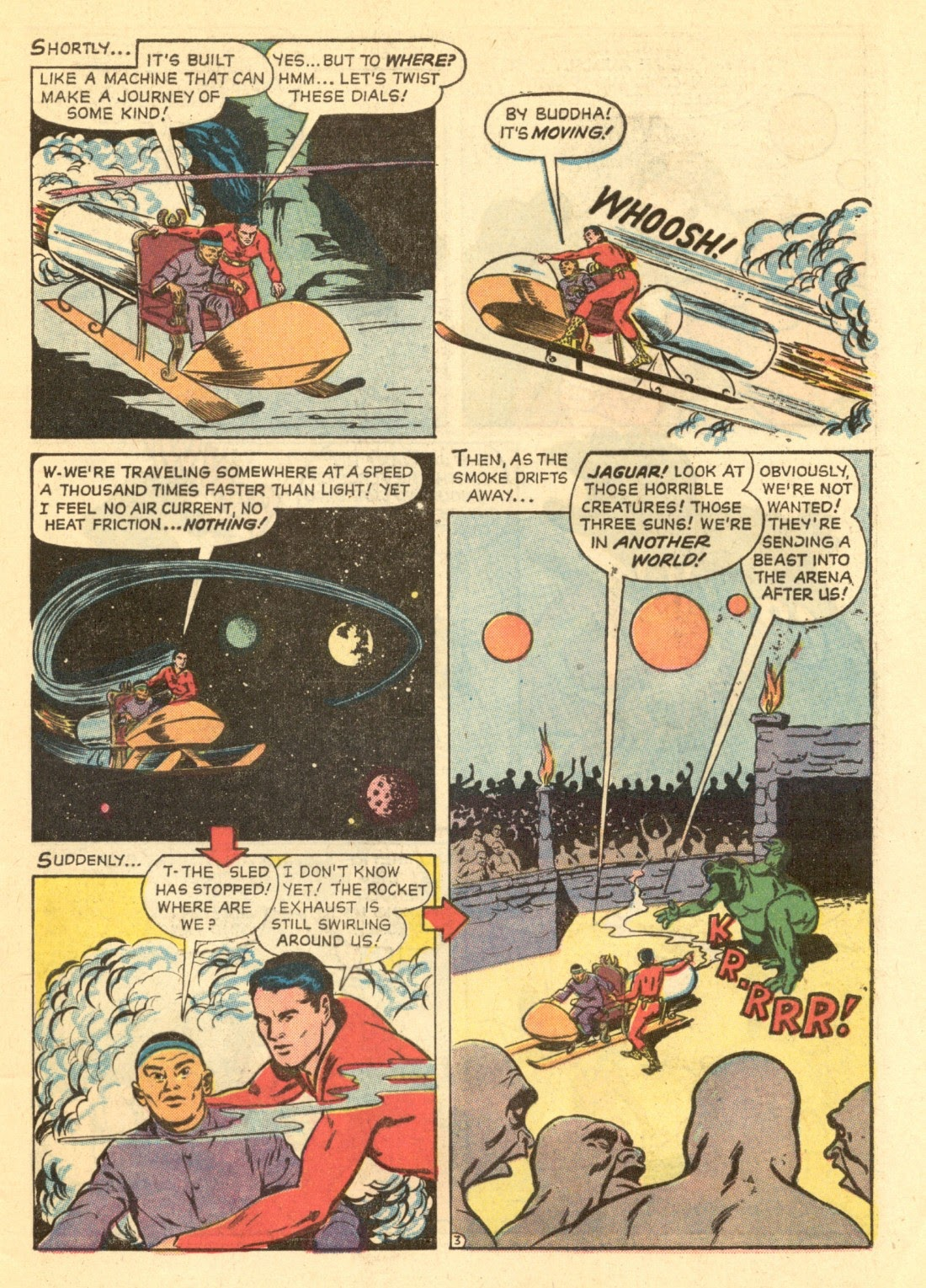 Adventures of the Jaguar issue 4 - Page 5