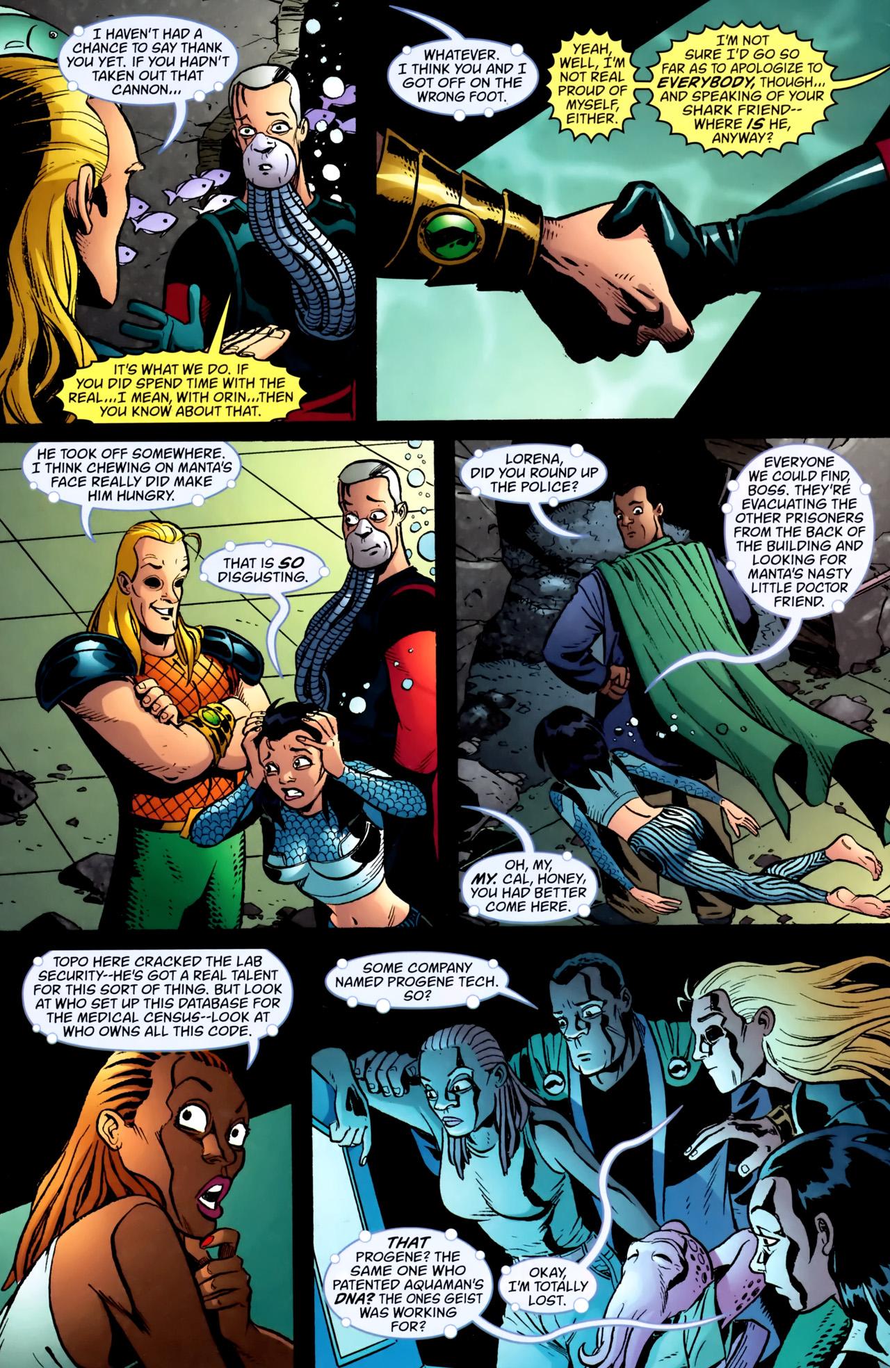 Read online Aquaman: Sword of Atlantis comic -  Issue #54 - 3