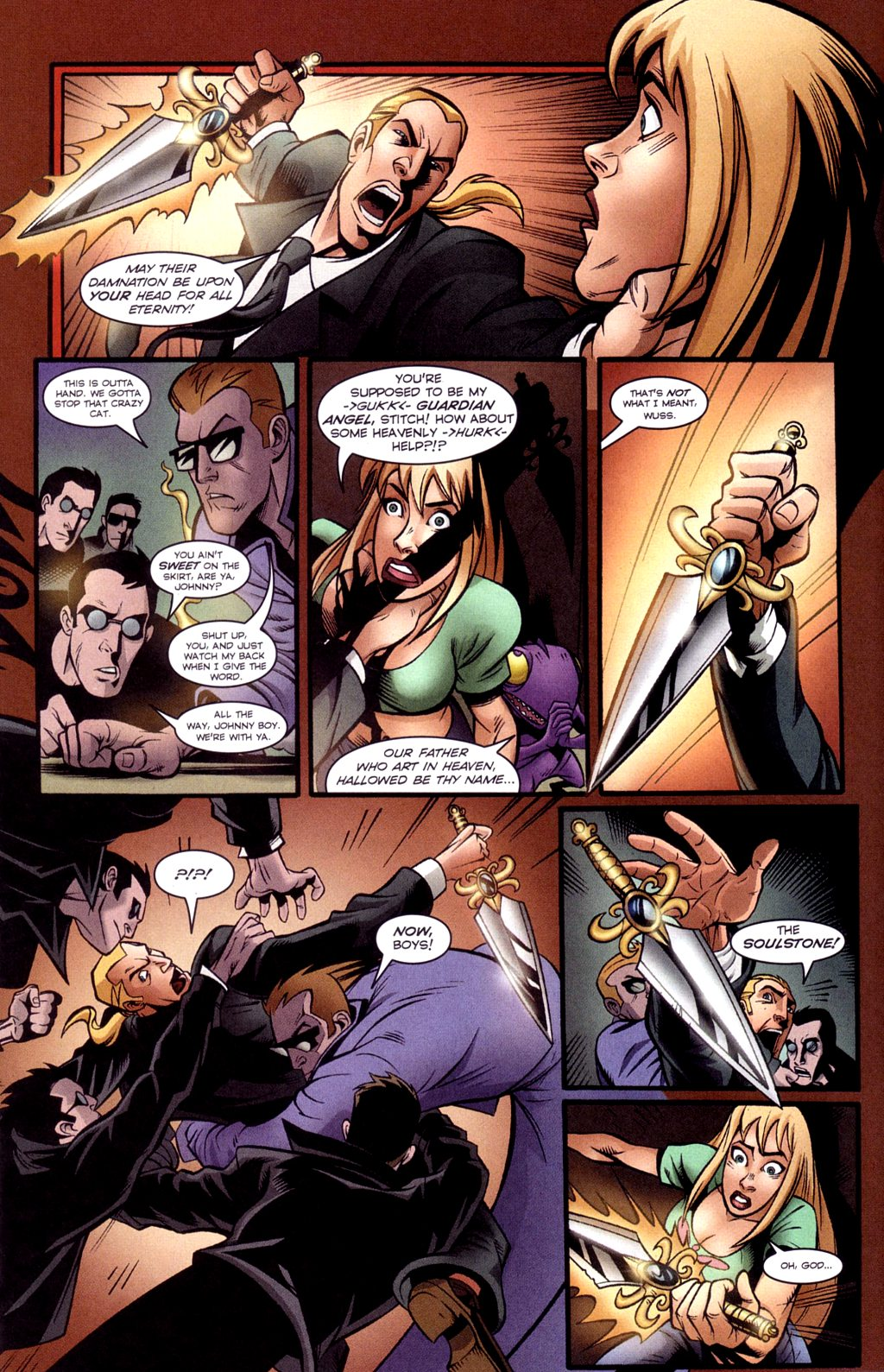 Read online Jezebelle comic -  Issue #3 - 7