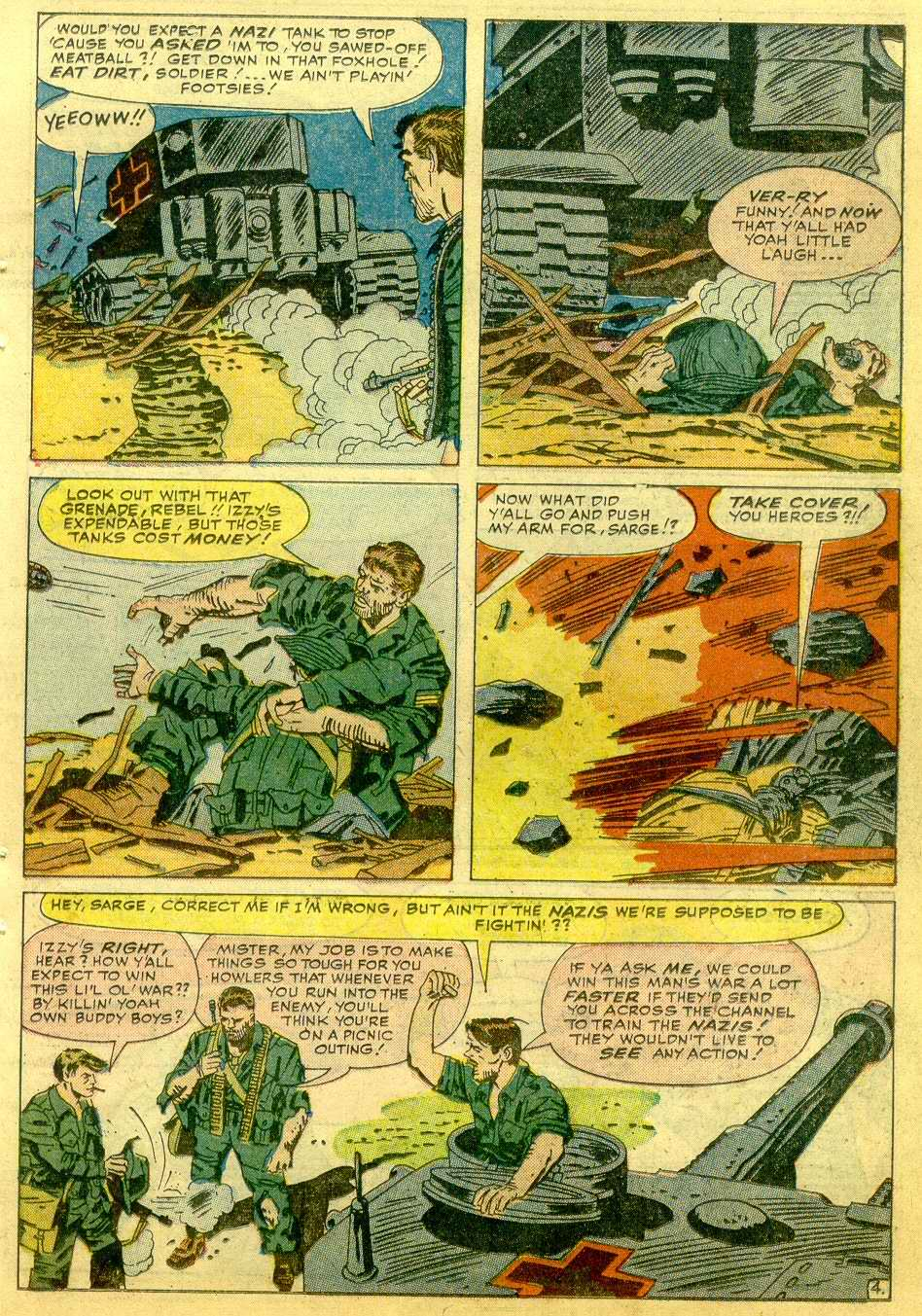 Read online Sgt. Fury comic -  Issue # _Annual 1 - 51