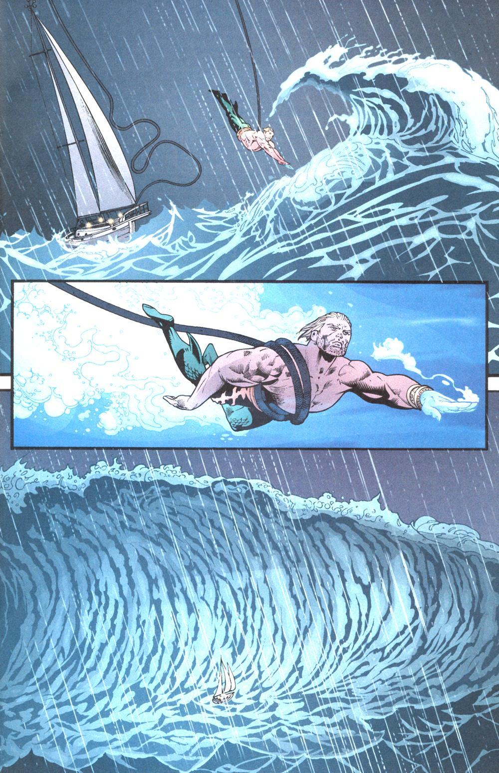 Read online Aquaman (2003) comic -  Issue #13 - 10