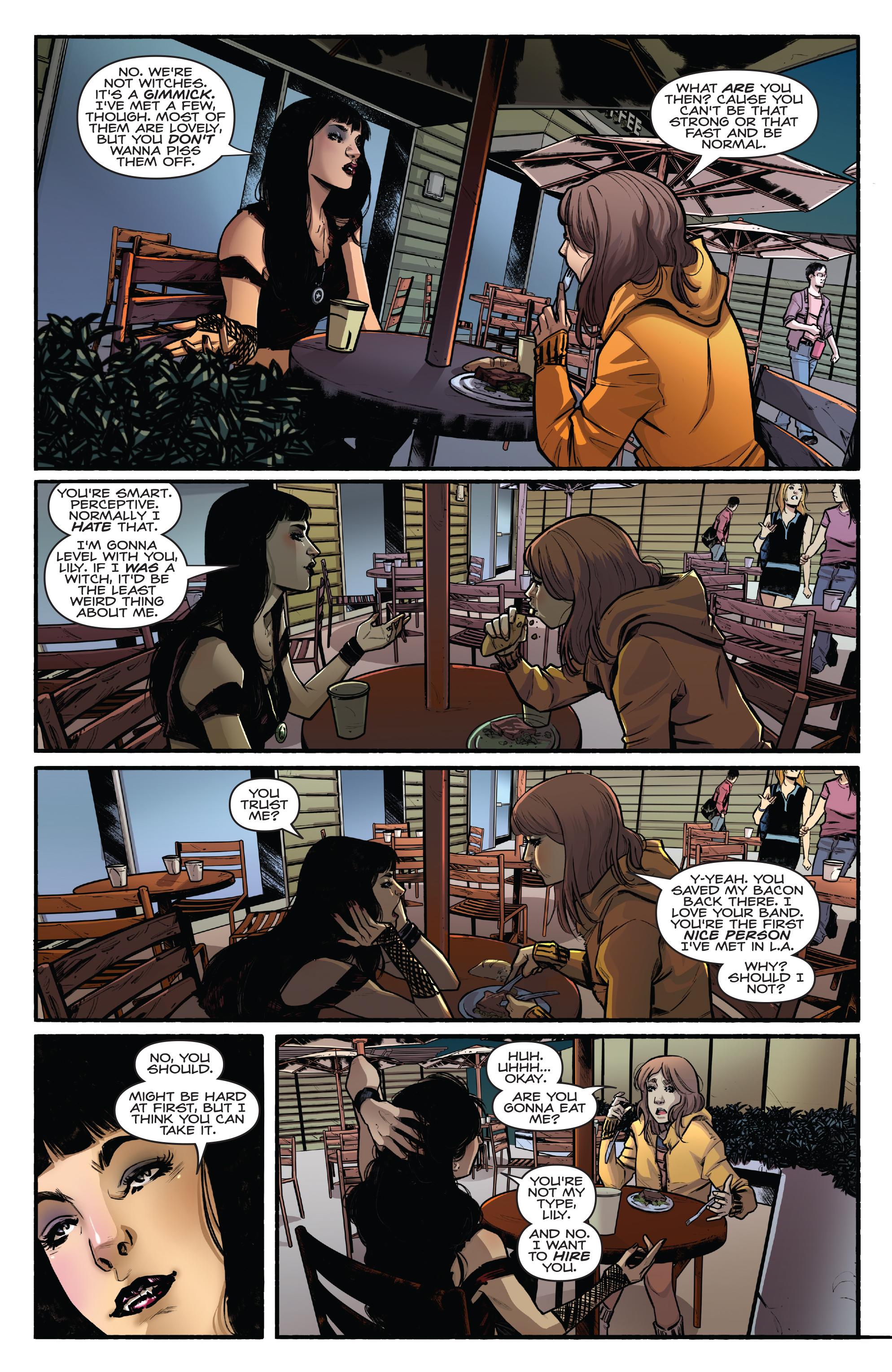 Read online Kiss/Vampirella comic -  Issue #1 - 20