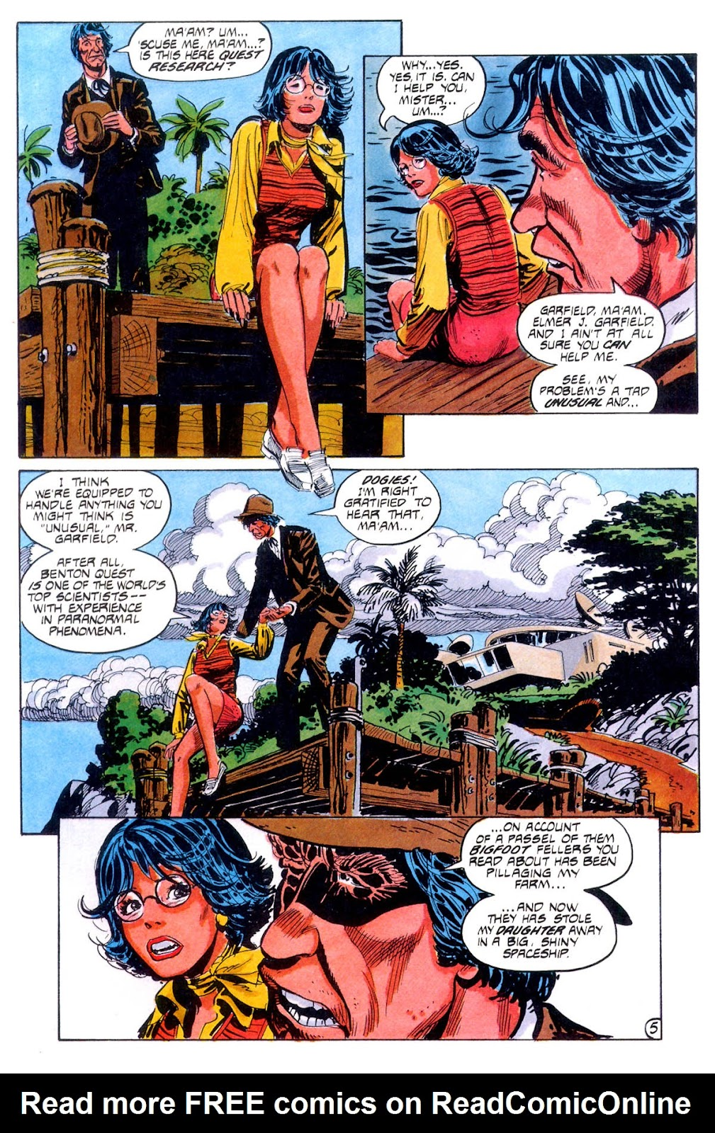 Jonny Quest (1986) issue 12 - Page 8