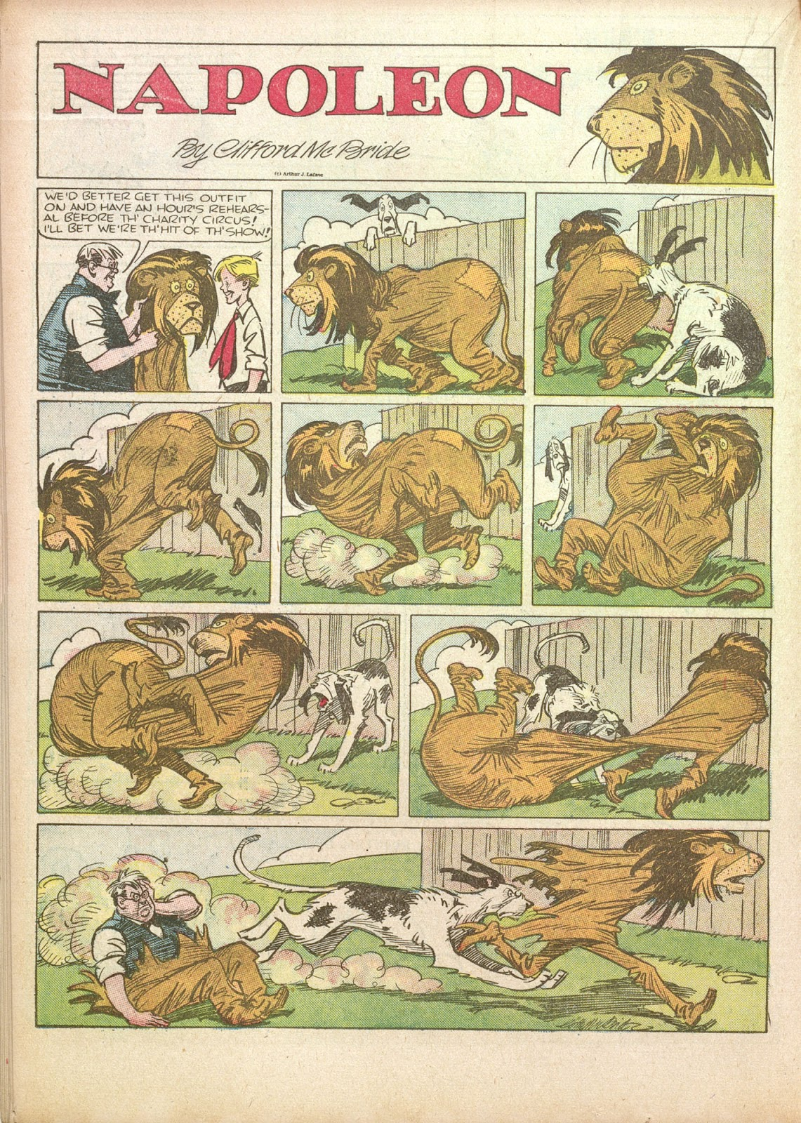 Read online Famous Funnies comic -  Issue #35 - 30