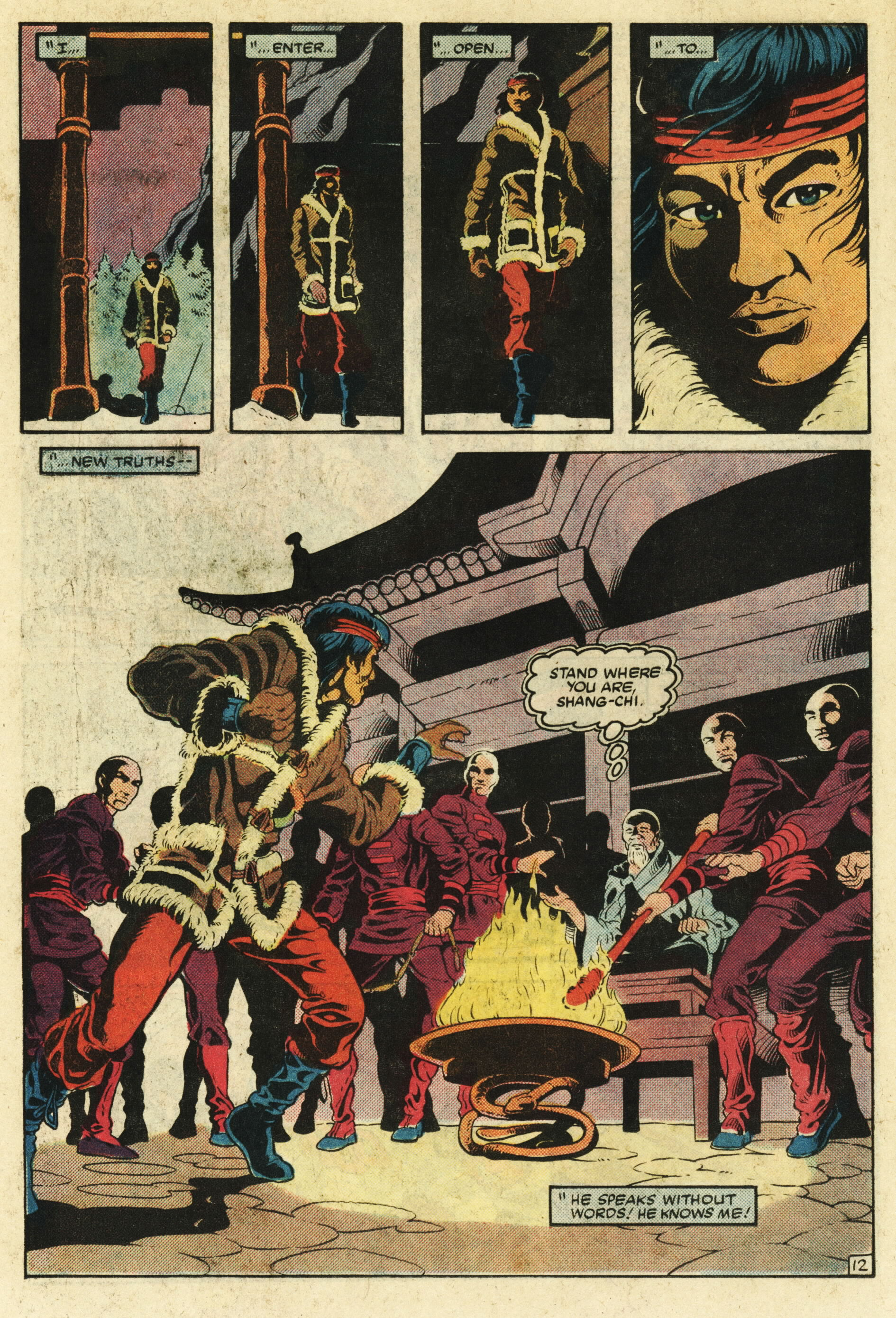 Read online Master of Kung Fu (1974) comic -  Issue #124 - 13