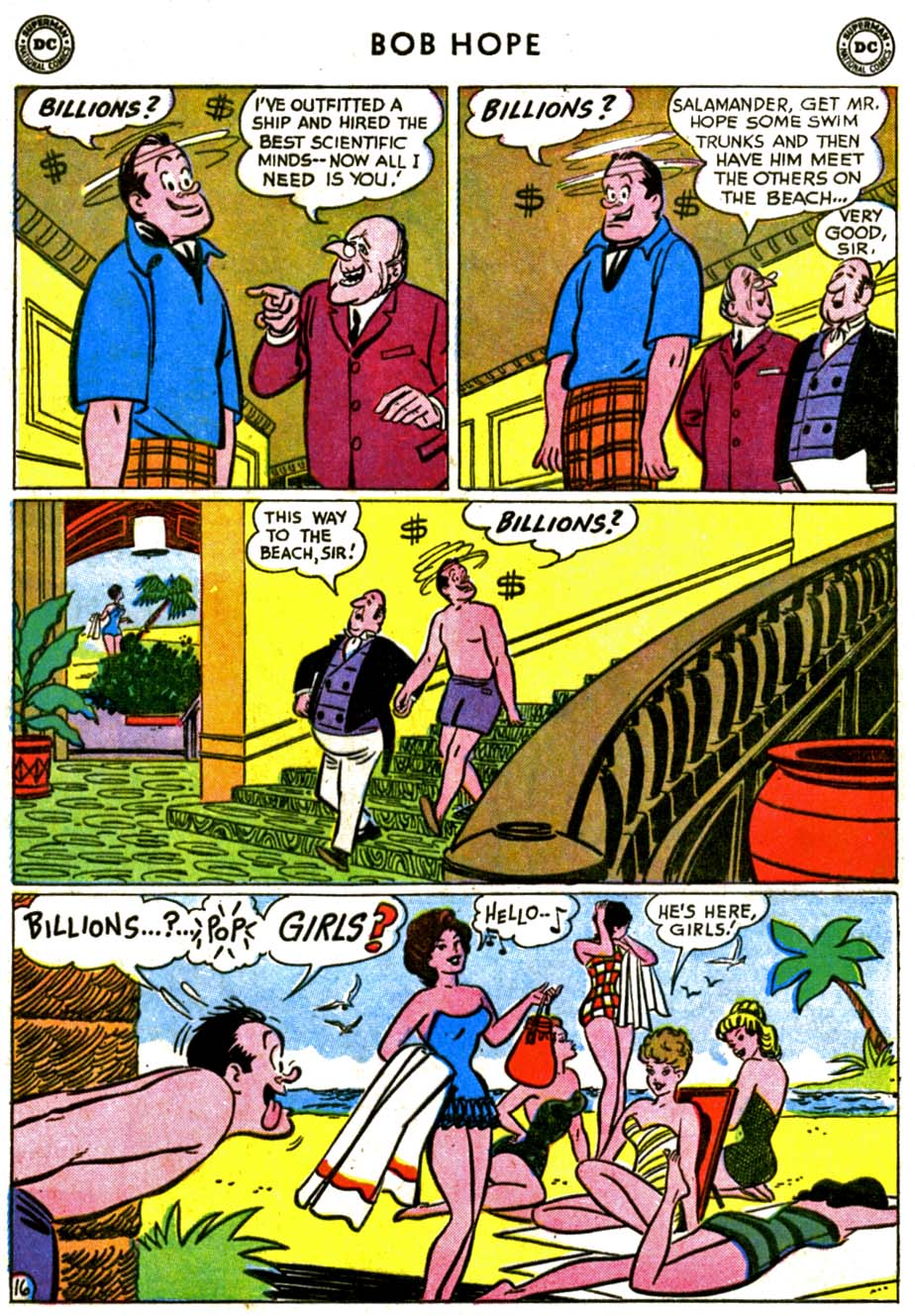 The Adventures of Bob Hope issue 72 - Page 20