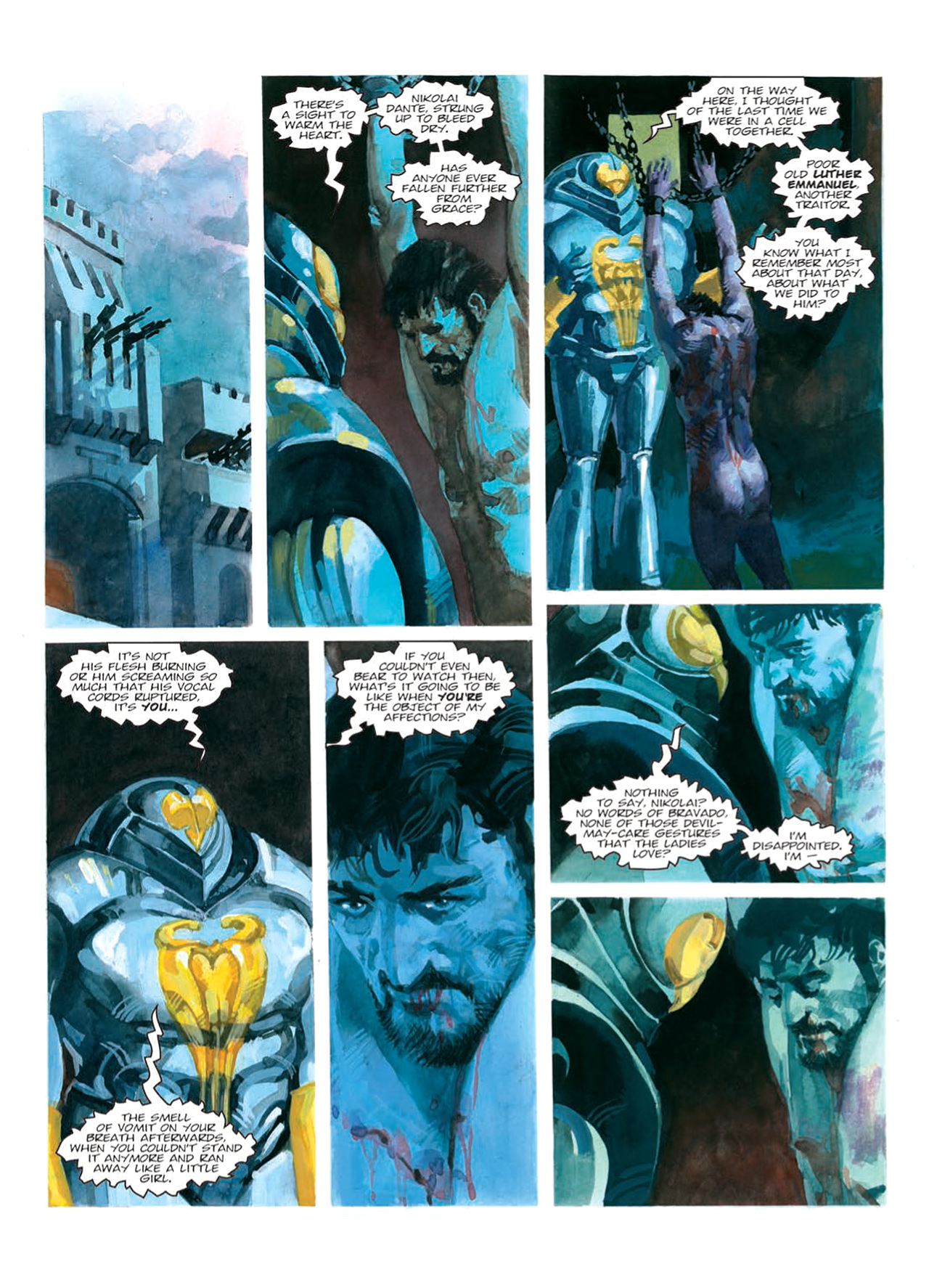 Read online Nikolai Dante comic -  Issue # TPB 9 - 82