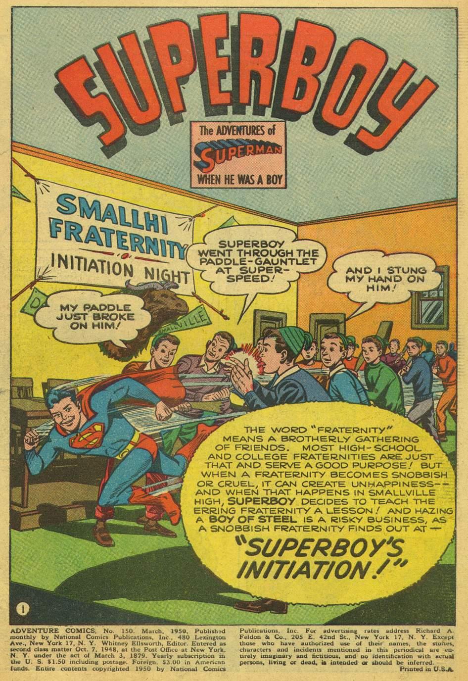 Read online Adventure Comics (1938) comic -  Issue #150 - 3