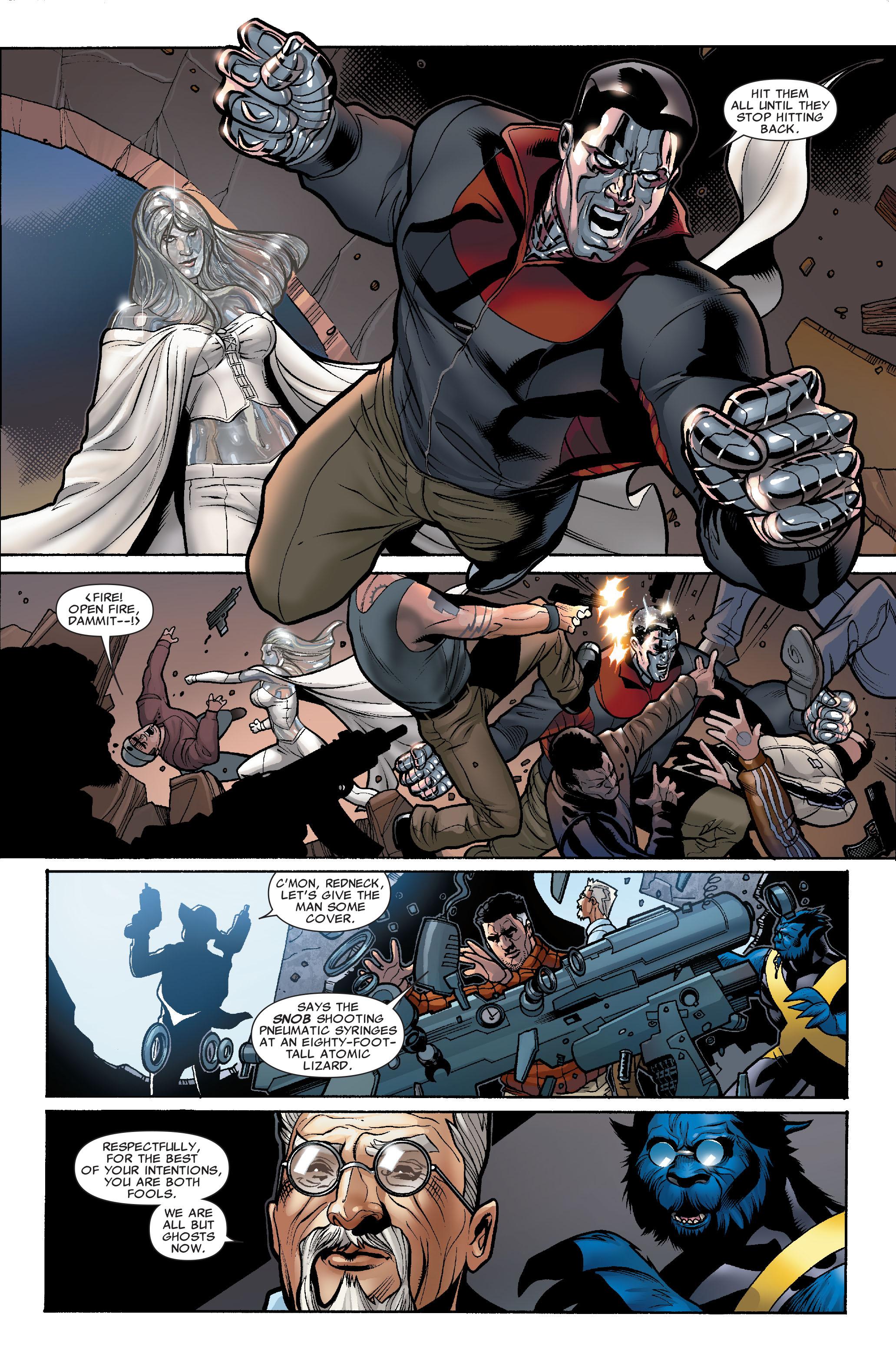 Read online Uncanny X-Men (1963) comic -  Issue #507 - 7