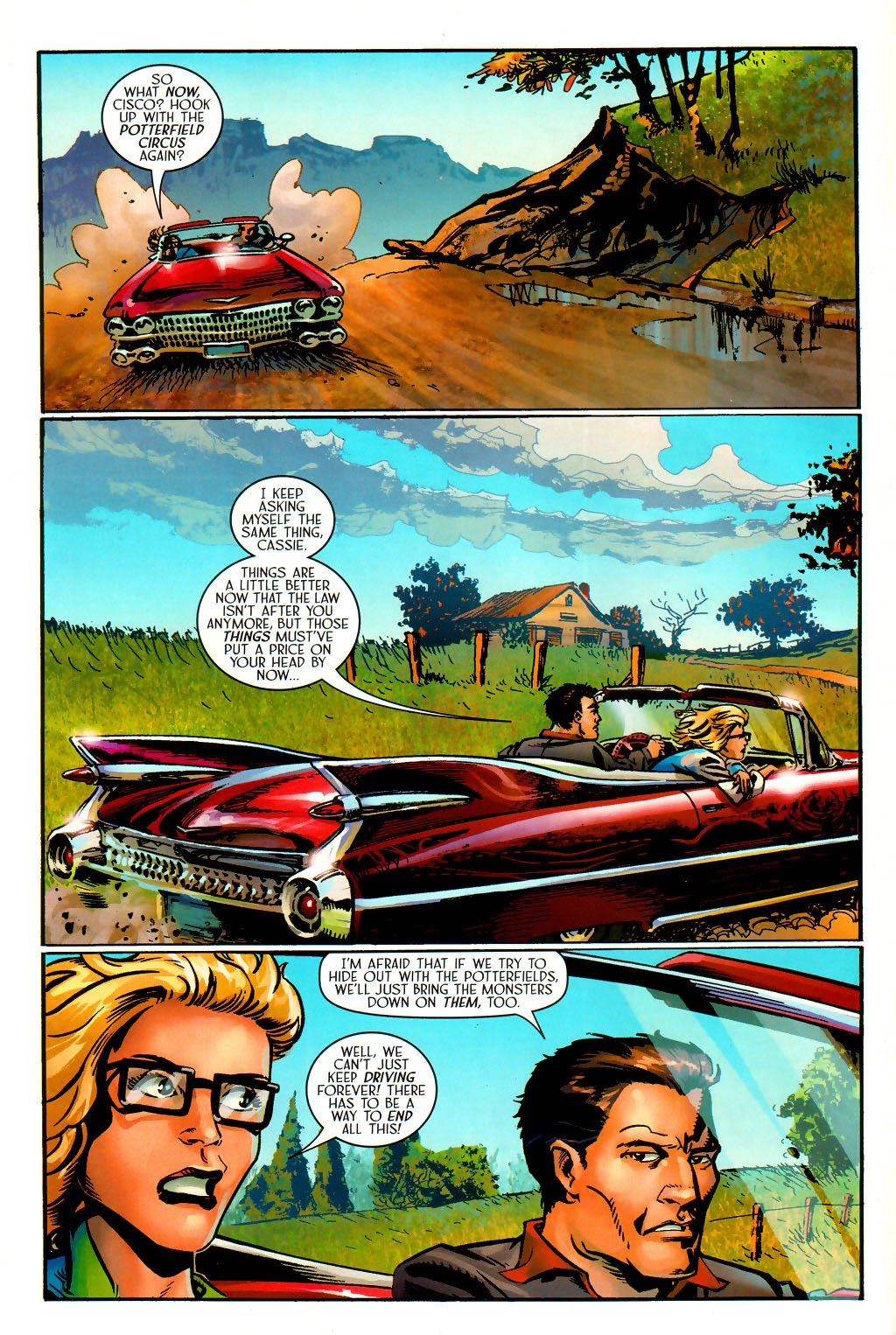 Read online Route 666 comic -  Issue #15 - 15