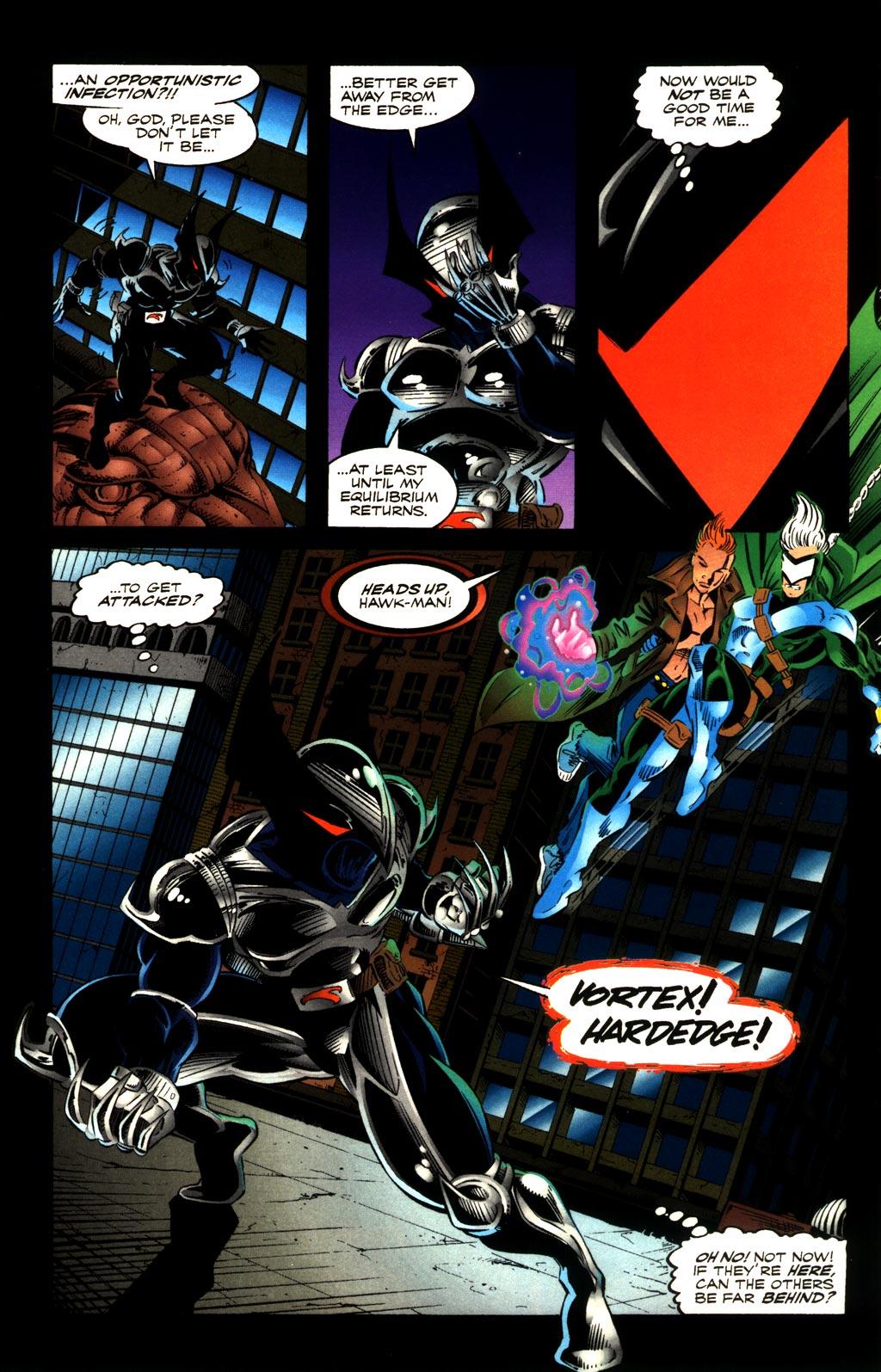 Read online ShadowHawk comic -  Issue #8 - 11