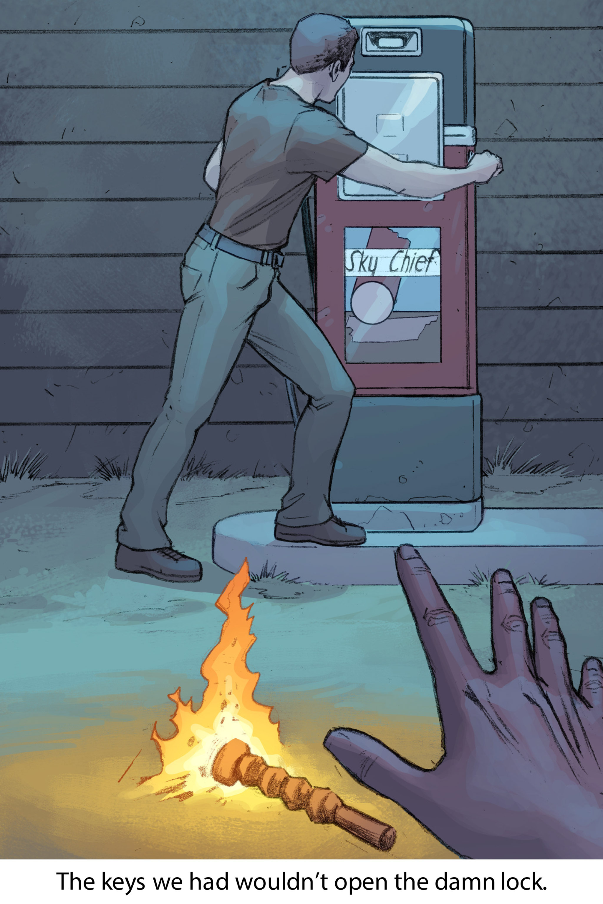 Read online Soul comic -  Issue #2 - 105