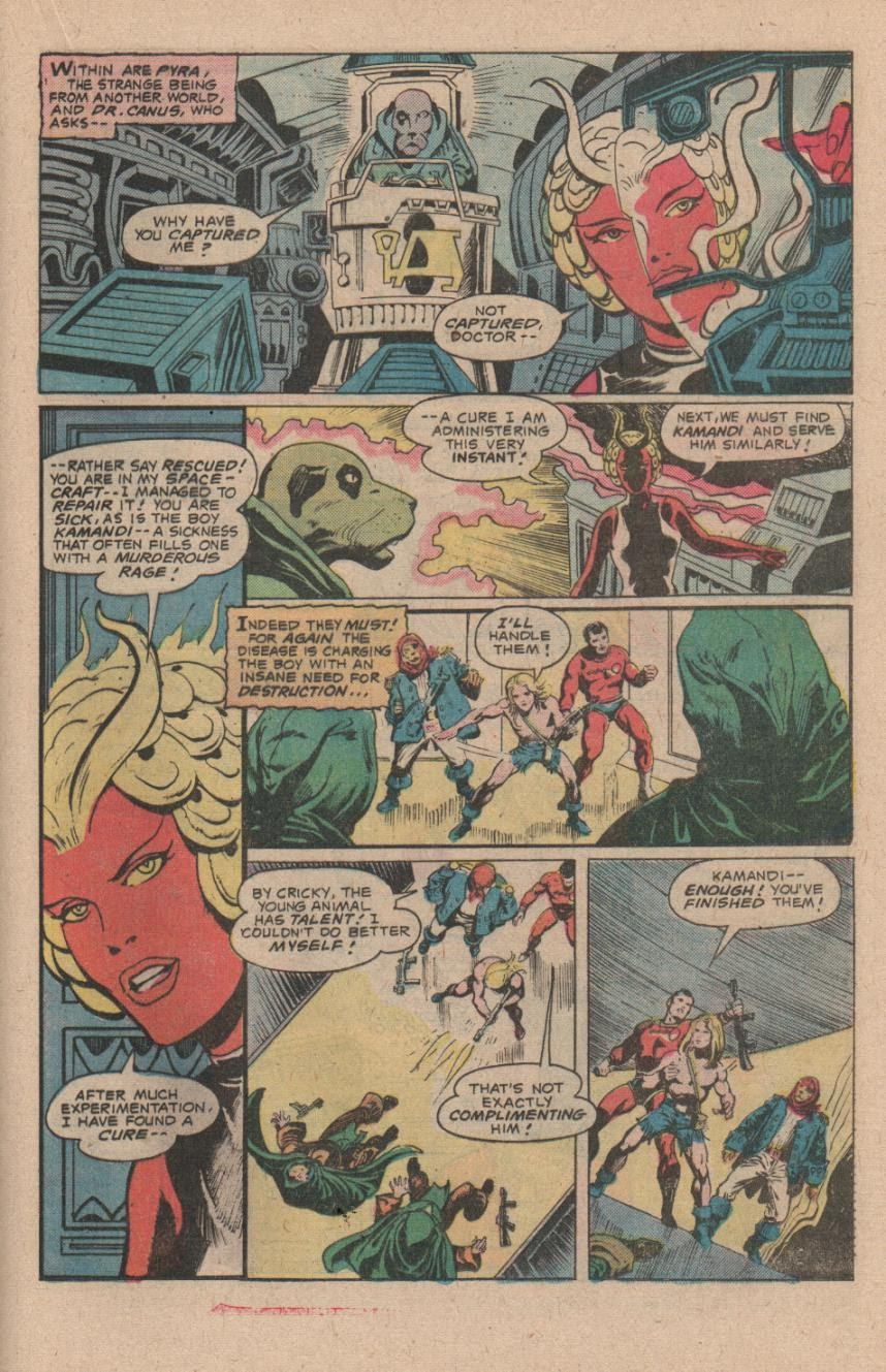 Kamandi, The Last Boy On Earth issue 47 - Page 21