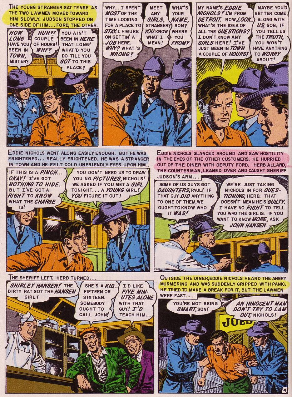 Read online Shock SuspenStories comic -  Issue #16 - 18