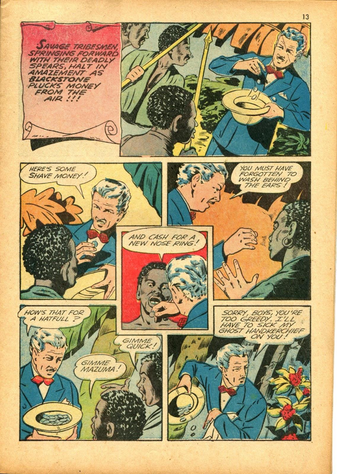 Read online Super-Magician Comics comic -  Issue #15 - 13