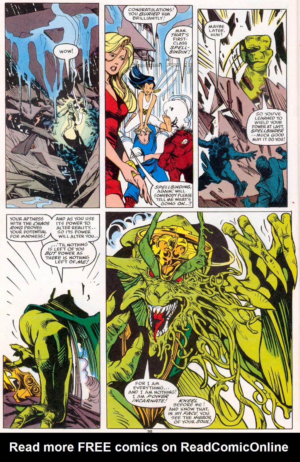 Read online Spellbound comic -  Issue #1 - 21