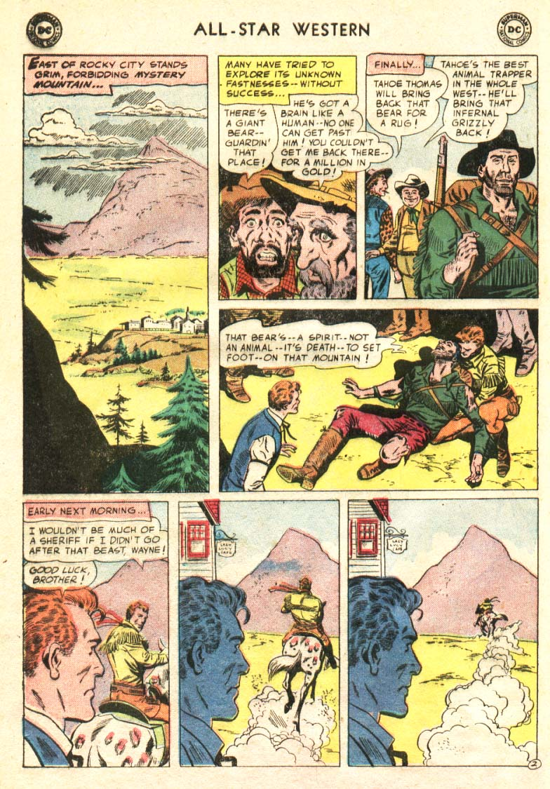 Read online All-Star Western (1951) comic -  Issue #91 - 3