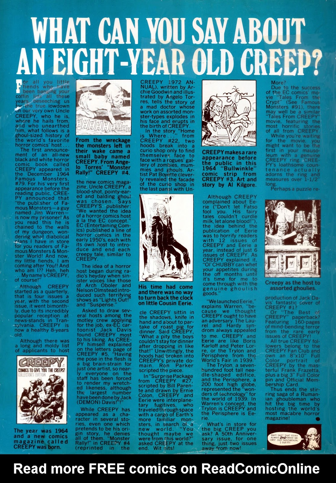 Creepy (1964) issue 48 - Page 2