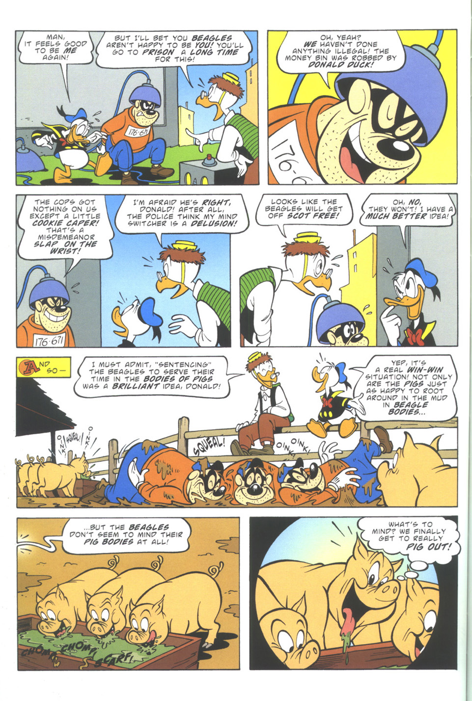 Read online Uncle Scrooge (1953) comic -  Issue #343 - 52