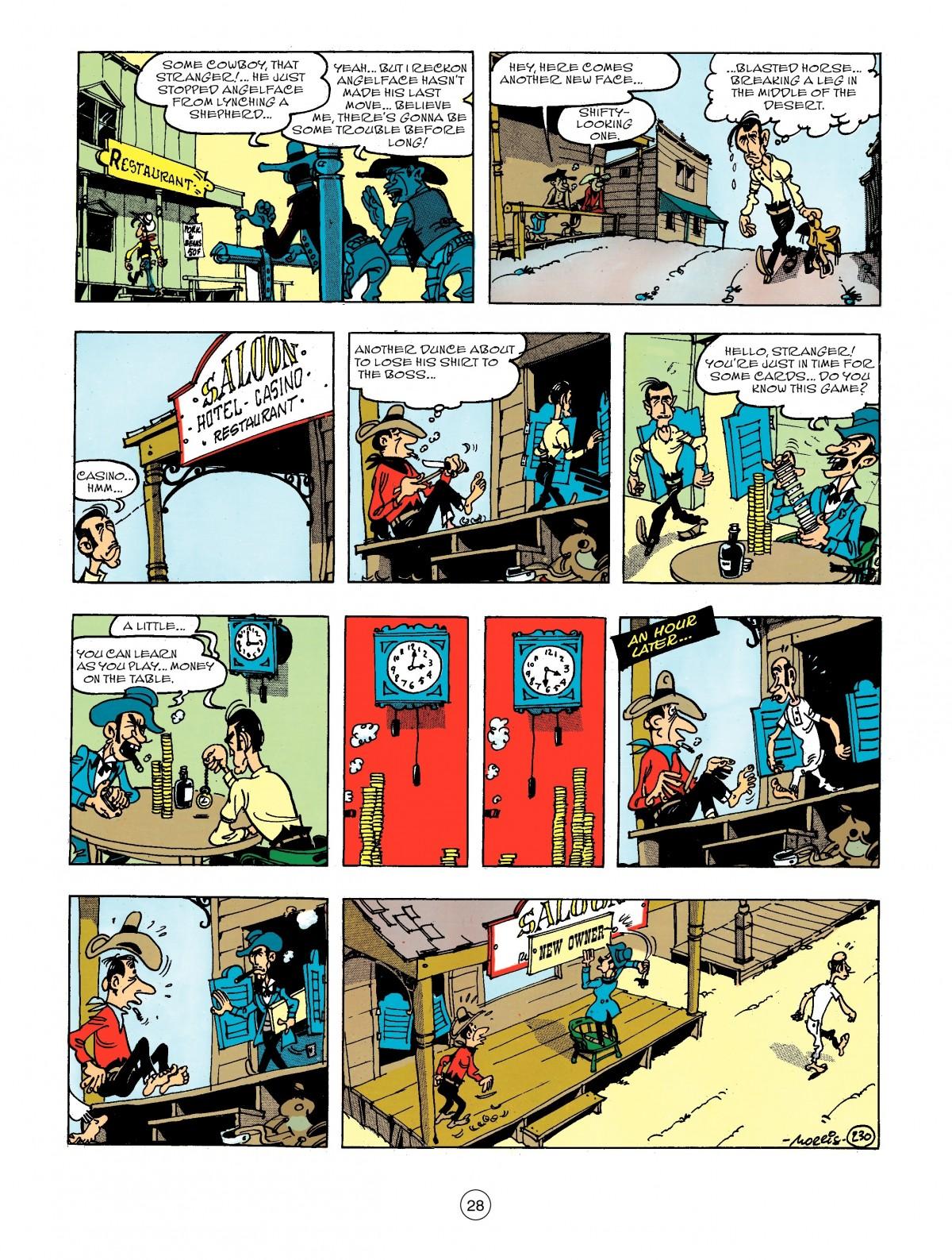 Read online A Lucky Luke Adventure comic -  Issue #44 - 28