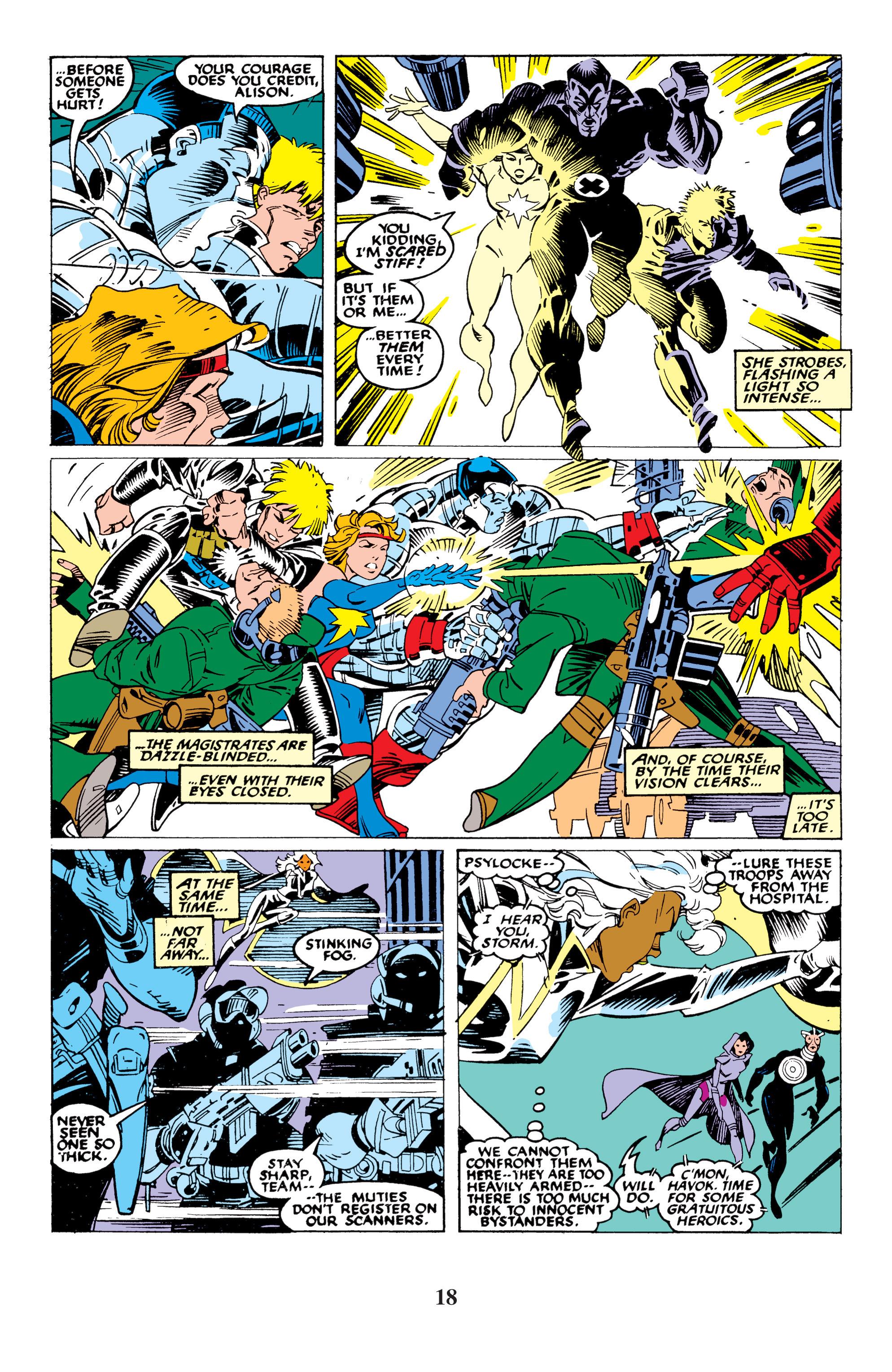 Read online Uncanny X-Men (1963) comic -  Issue #235 - 18