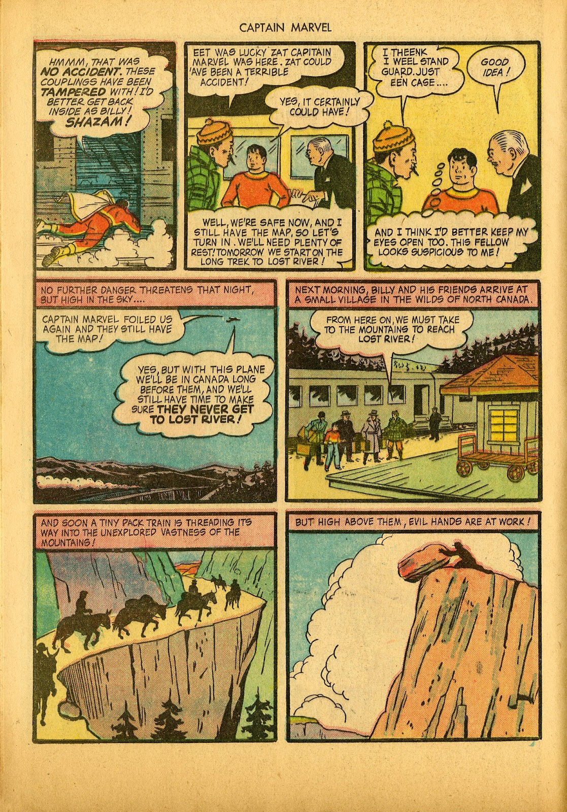 Captain Marvel Adventures issue 36 - Page 20