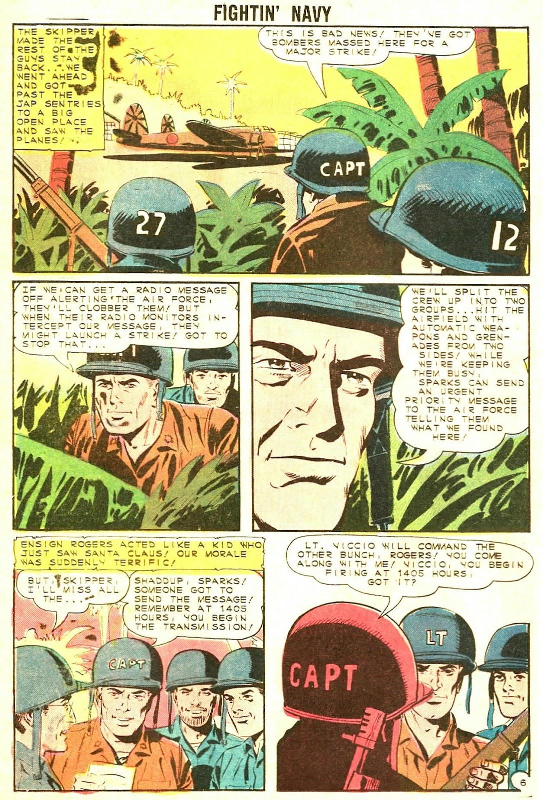 Read online Fightin' Navy comic -  Issue #117 - 20