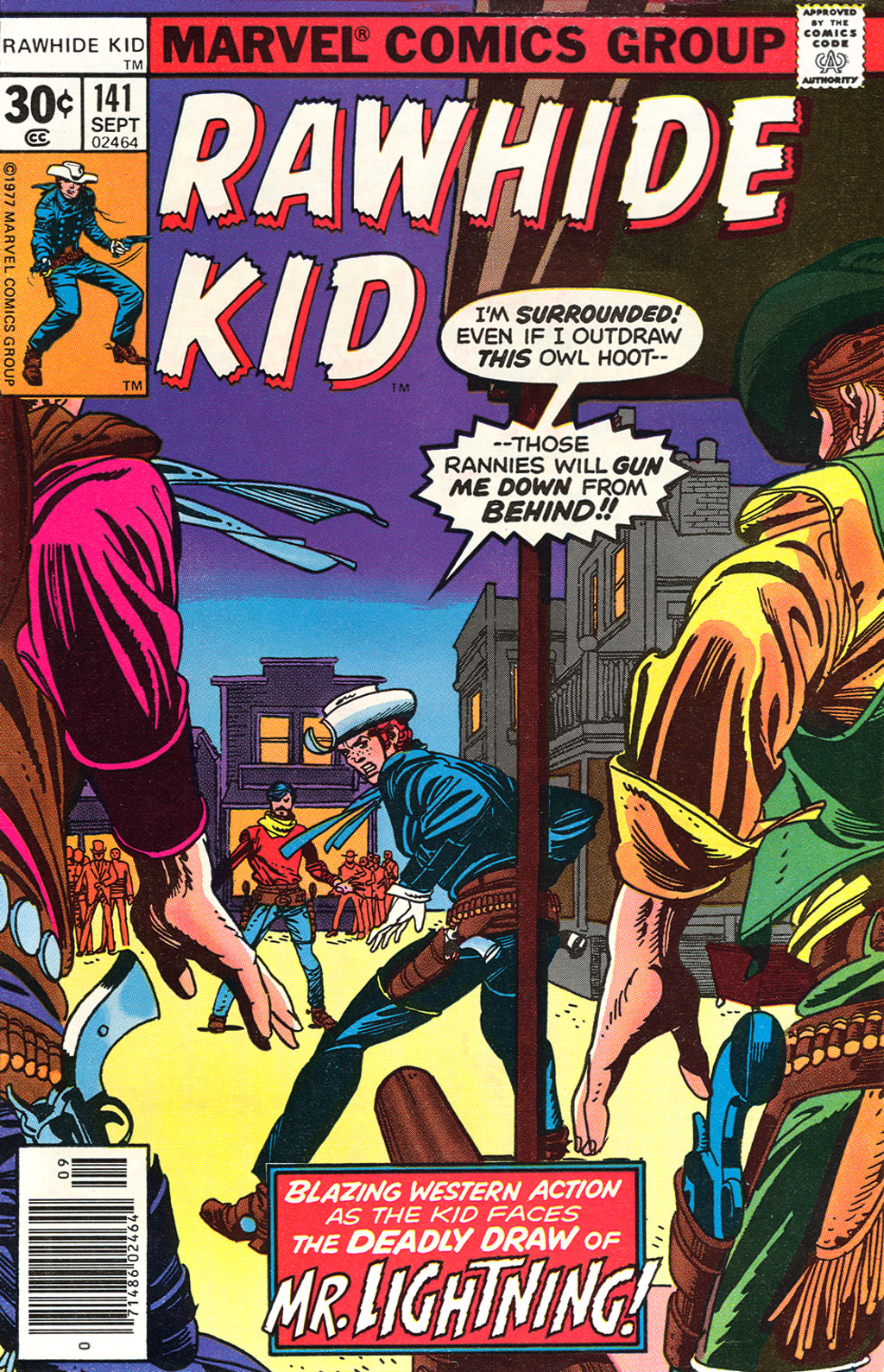 The Rawhide Kid (1955) issue 141 - Page 1