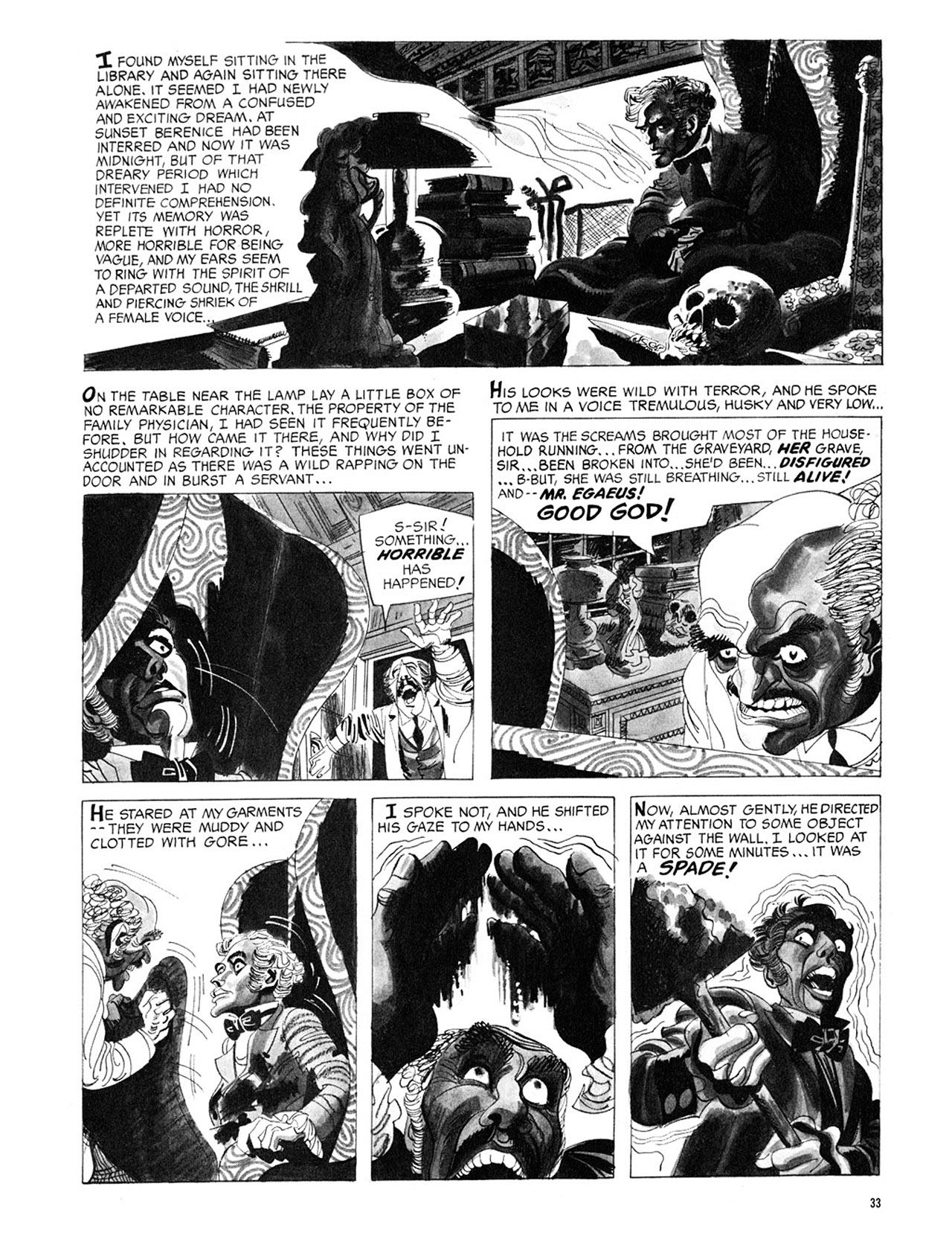 Read online Eerie Archives comic -  Issue # TPB 3 - 34