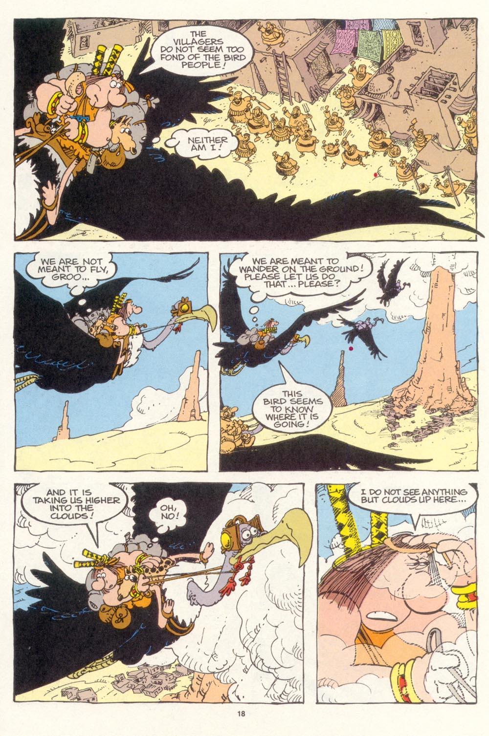 Read online Sergio Aragonés Groo the Wanderer comic -  Issue #114 - 20