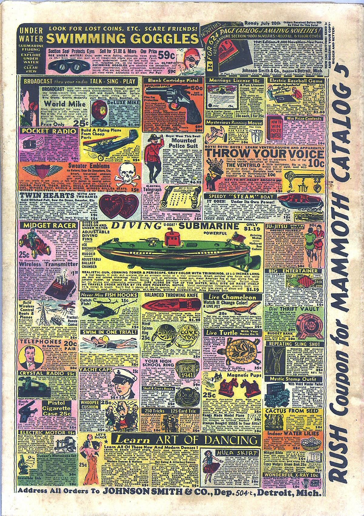 Read online Amazing Man Comics comic -  Issue #16 - 68