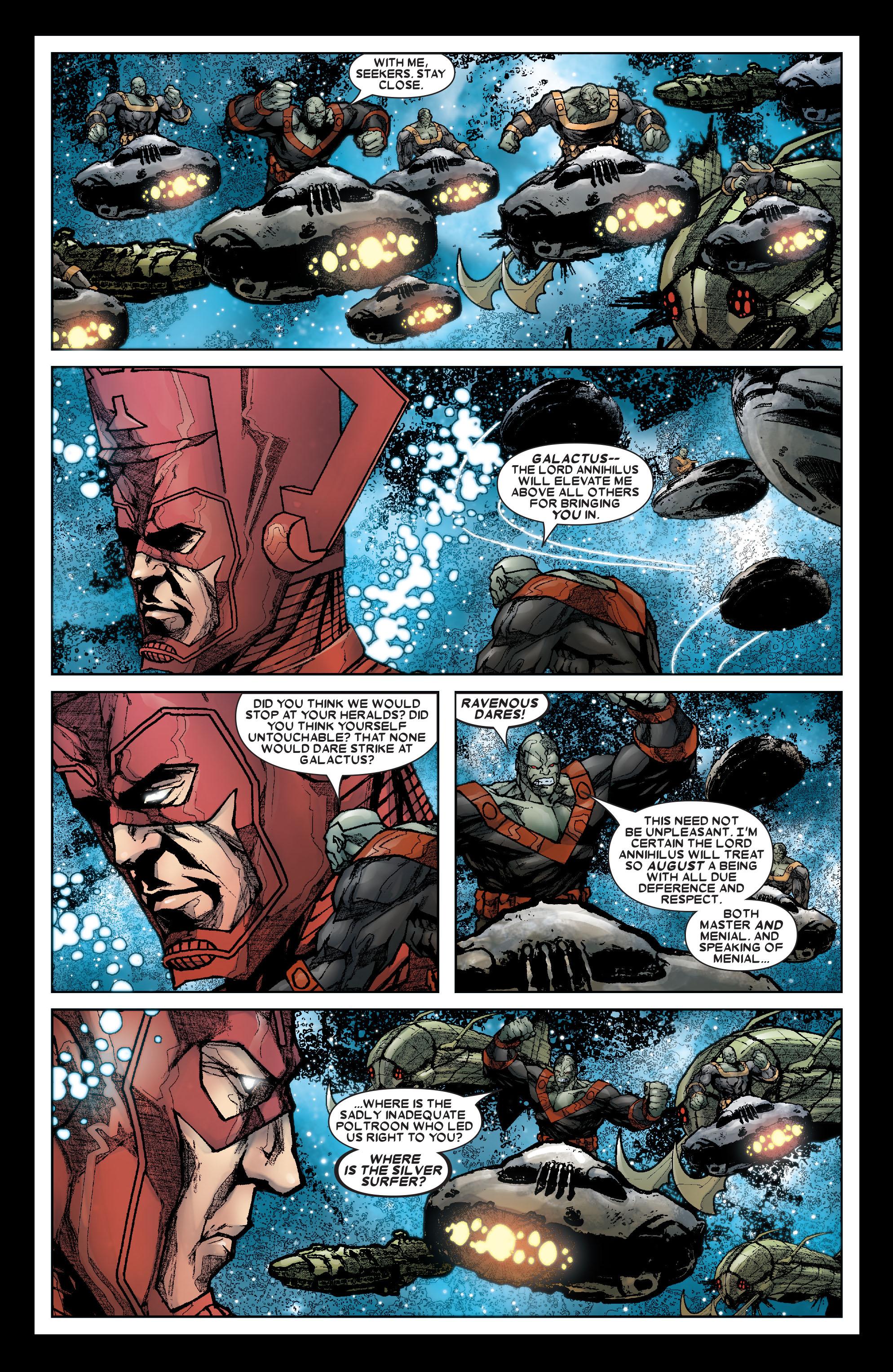 Read online Annihilation: Silver Surfer comic -  Issue #3 - 21