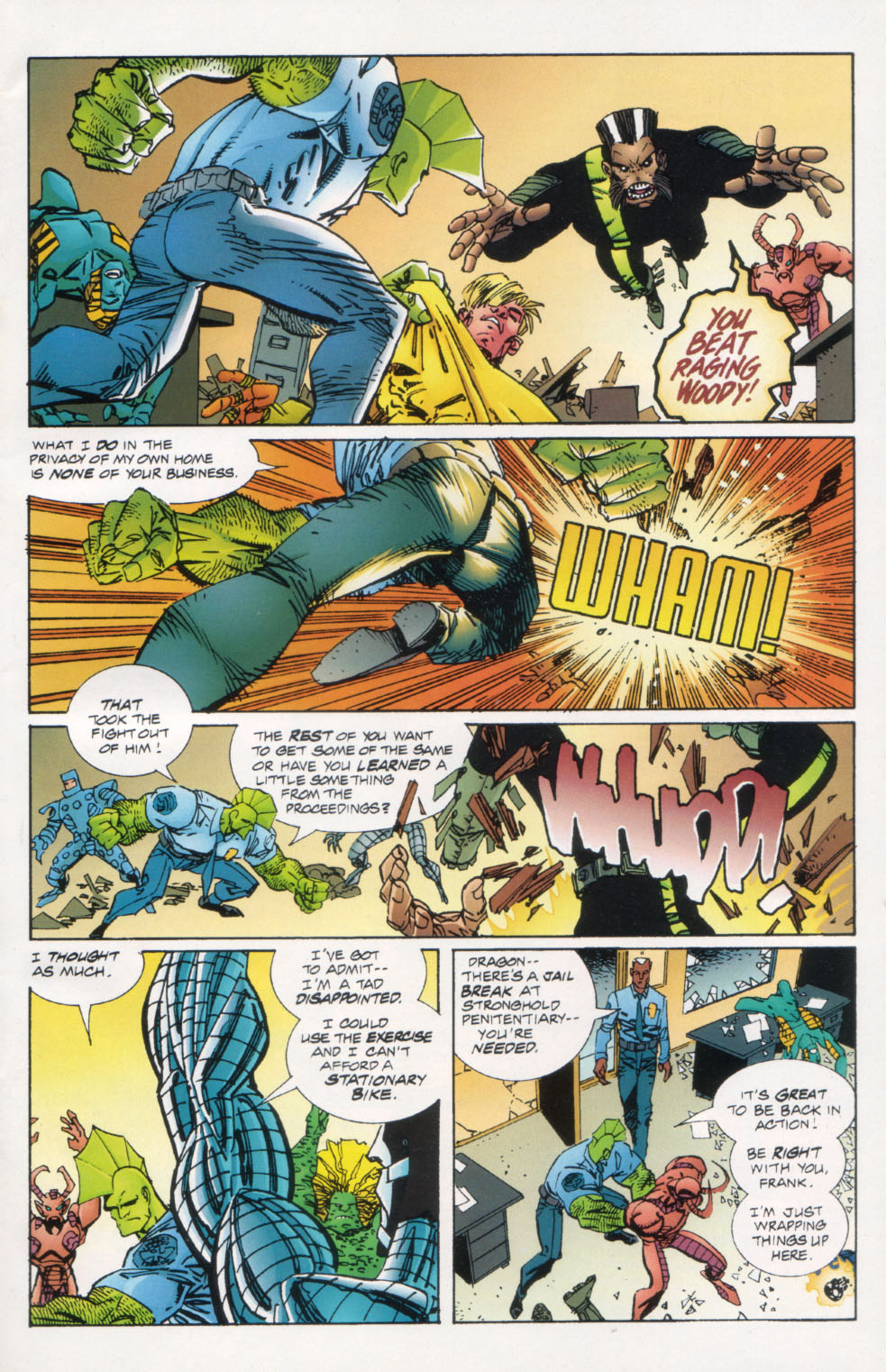 The Savage Dragon (1993) Issue #26 #29 - English 6