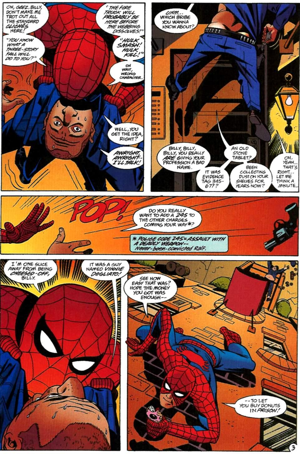 Read online Spider-Man: Lifeline comic -  Issue #2 - 4