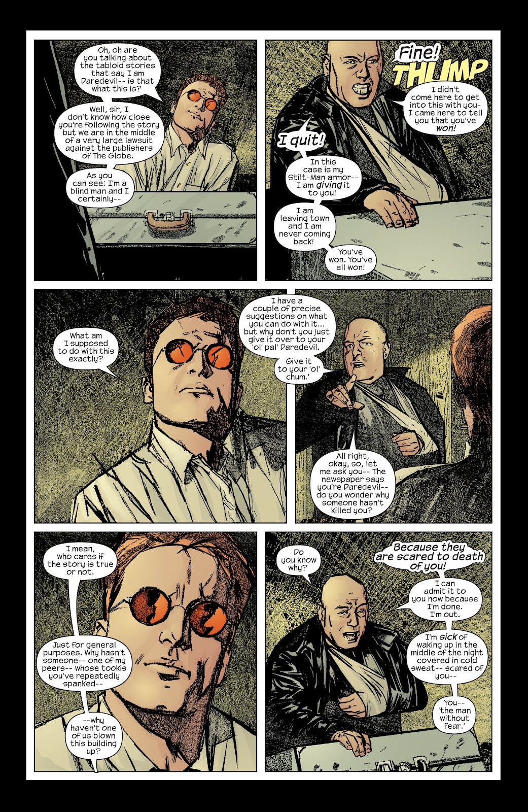 Read online Daredevil (1998) comic -  Issue # _Ultimate_Collection TPB 2 (Part 1) - 12
