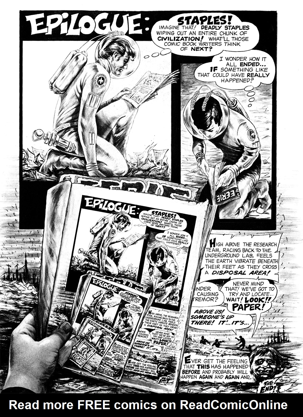 Read online Eerie Archives comic -  Issue # TPB 6 - 219