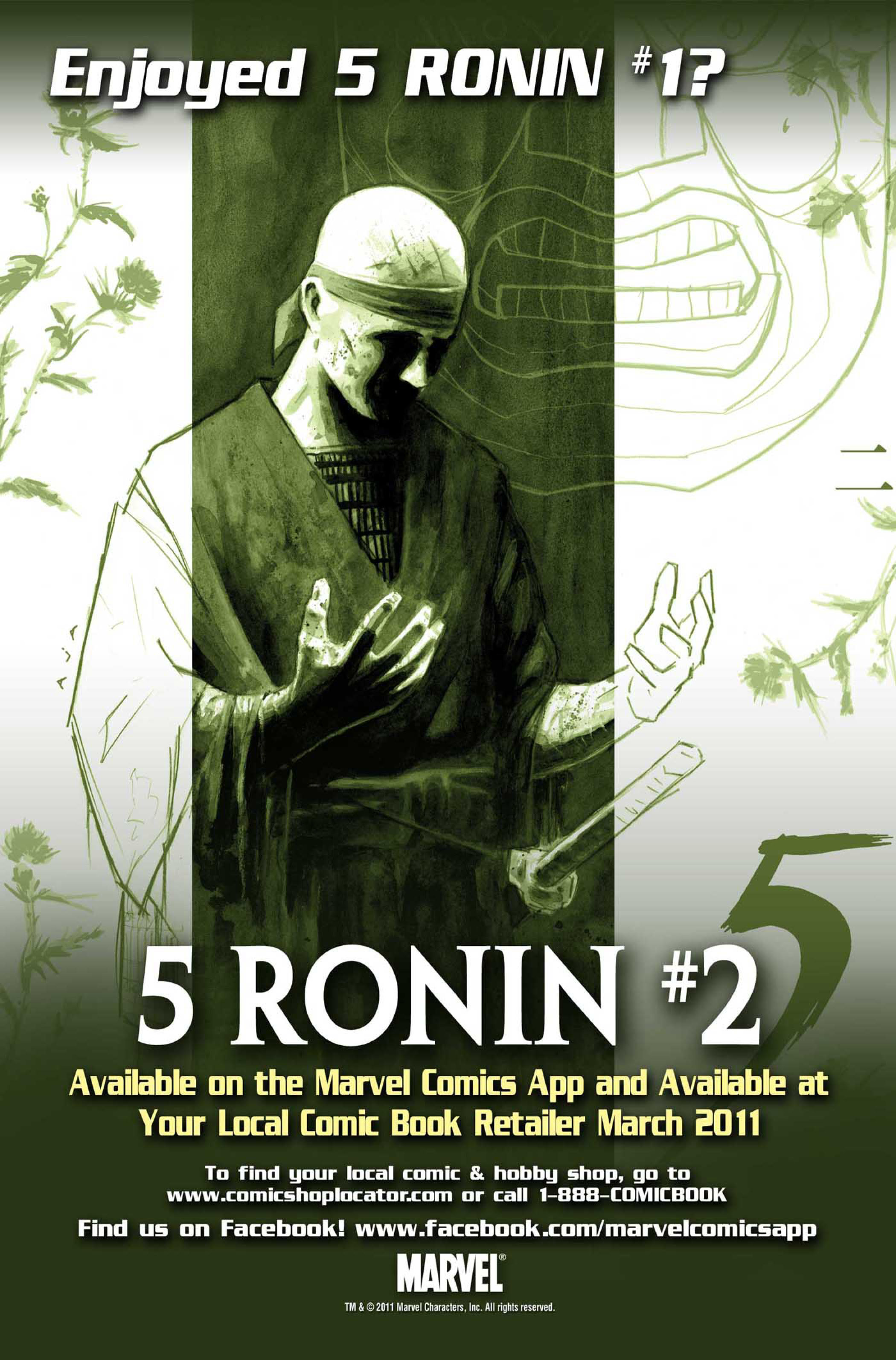 Read online 5 Ronin (2011) comic -  Issue #1 - 27