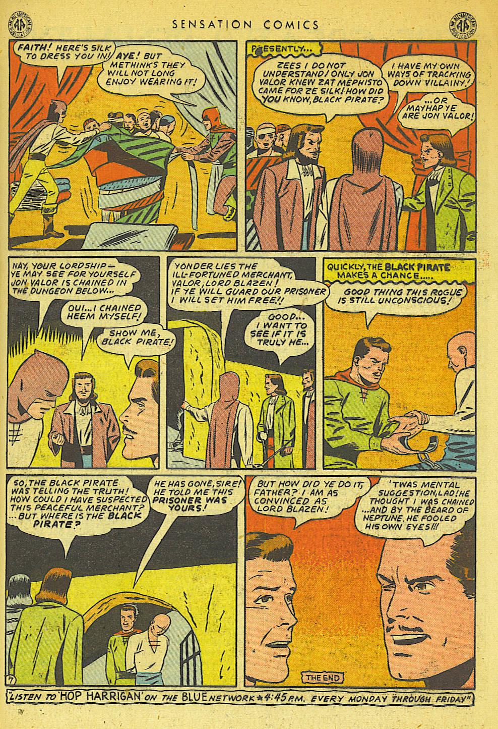 Read online Sensation (Mystery) Comics comic -  Issue #42 - 31