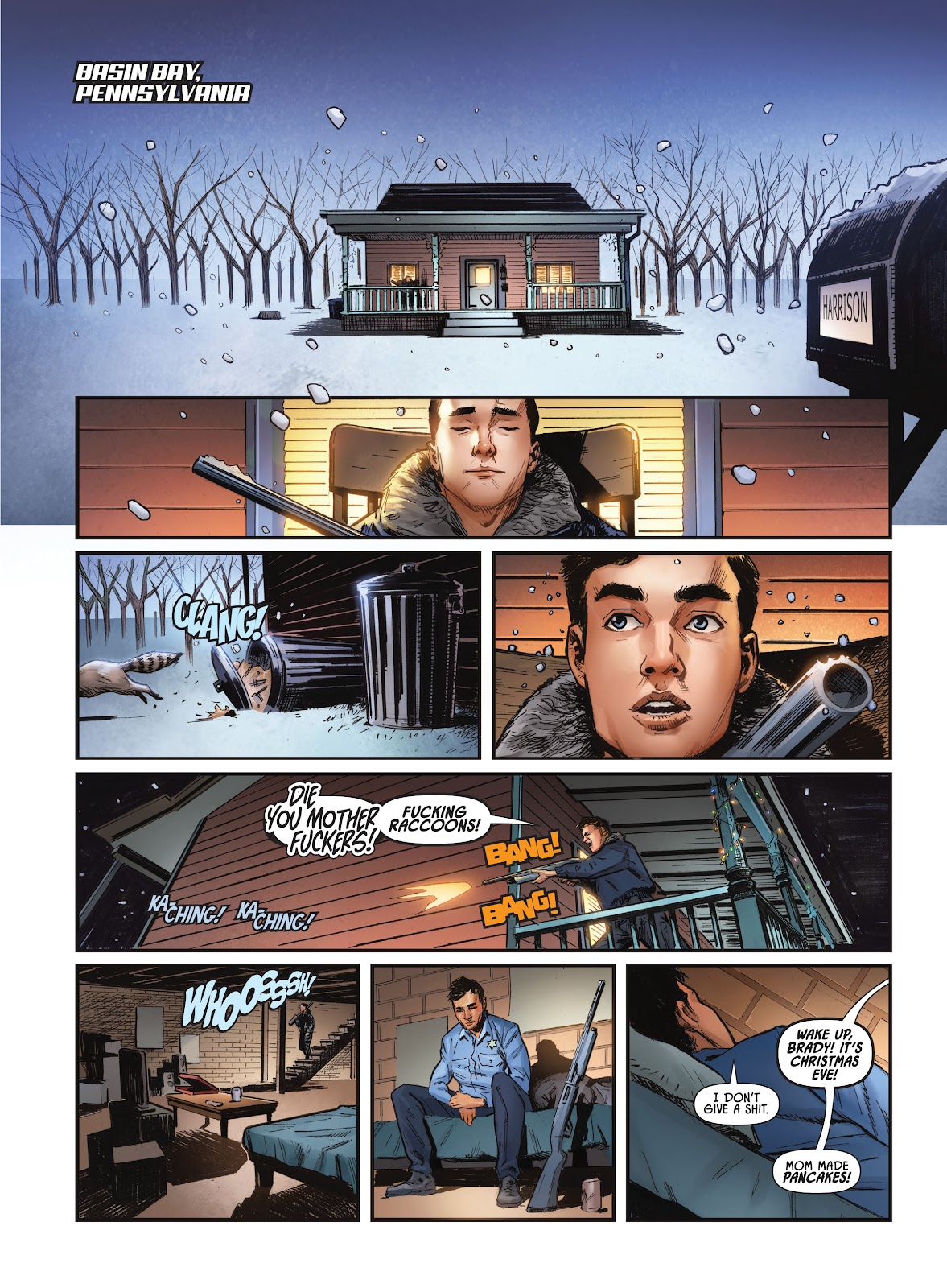 Savage Circus issue 1 - Page 8
